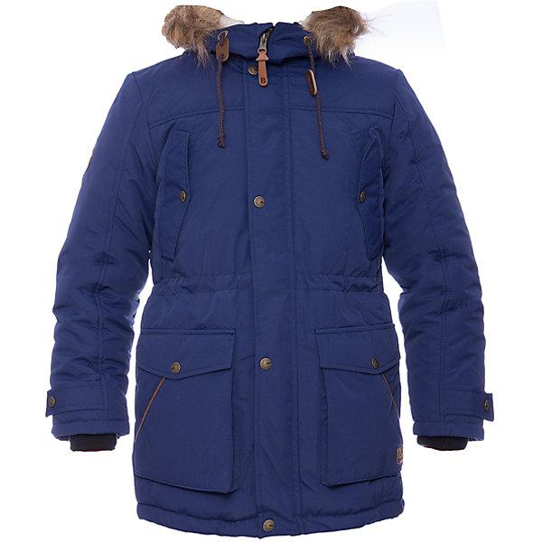 Парка Днепр Batik для мальчикаВерхняя одежда<br>Характеристики товара:<br><br>• цвет: синий<br>• состав ткани: таслан<br>• подкладка: поларфлис<br>• утеплитель: шелтер, подстежка - синтепон <br>• сезон: зима<br>• мембранное покрытие<br>• температурный режим: от -35 до 0<br>• водонепроницаемость: 5000 мм <br>• паропроницаемость: 5000 г/м2<br>• плотность утеплителя: 250 гр/м2, подстежка - 100 г/м2<br>• застежка: молния<br>• капюшон: с мехом<br>• подстежка в комплекте<br>• страна бренда: Россия<br>• страна изготовитель: Россия<br><br>Модная детская парка продается в комплекте со съемной подстежкой. Мягкая подкладка детской парки для зимы делает её очень комфортной. Эта теплая парка для мальчика позволяет коже дышать. Плотный верх детской зимней куртки не промокает и не продувается, его легко чистить. <br><br>Парку Днепр Batik (Батик) для мальчика можно купить в нашем интернет-магазине.<br><br>Ширина мм: 356<br>Глубина мм: 10<br>Высота мм: 245<br>Вес г: 519<br>Цвет: синий<br>Возраст от месяцев: 120<br>Возраст до месяцев: 132<br>Пол: Мужской<br>Возраст: Детский<br>Размер: 146,164,158,152,146,164,158,152<br>SKU: 7027940