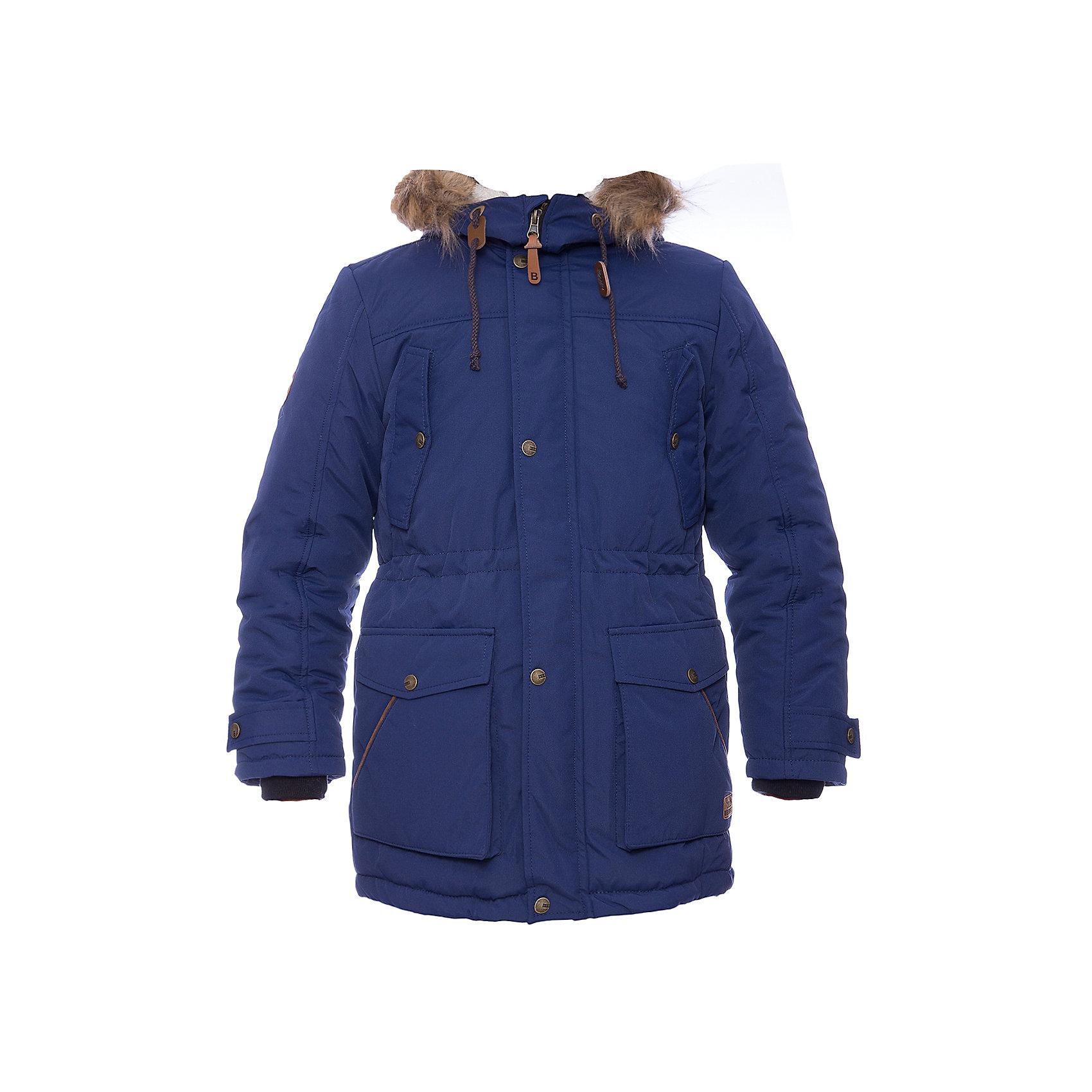 Парка Днепр Batik для мальчикаВерхняя одежда<br>Характеристики товара:<br><br>• цвет: синий<br>• состав ткани: таслан<br>• подкладка: поларфлис<br>• утеплитель: шелтер, подстежка - синтепон <br>• сезон: зима<br>• мембранное покрытие<br>• температурный режим: от -35 до 0<br>• водонепроницаемость: 5000 мм <br>• паропроницаемость: 5000 г/м2<br>• плотность утеплителя: 250 гр/м2, подстежка - 100 г/м2<br>• застежка: молния<br>• капюшон: с мехом<br>• подстежка в комплекте<br>• страна бренда: Россия<br>• страна изготовитель: Россия<br><br>Модная детская парка продается в комплекте со съемной подстежкой. Мягкая подкладка детской парки для зимы делает её очень комфортной. Эта теплая парка для мальчика позволяет коже дышать. Плотный верх детской зимней куртки не промокает и не продувается, его легко чистить. <br><br>Парку Днепр Batik (Батик) для мальчика можно купить в нашем интернет-магазине.<br><br>Ширина мм: 356<br>Глубина мм: 10<br>Высота мм: 245<br>Вес г: 519<br>Цвет: синий<br>Возраст от месяцев: 156<br>Возраст до месяцев: 168<br>Пол: Мужской<br>Возраст: Детский<br>Размер: 164,146,152,158,164,146,152,158<br>SKU: 7027940