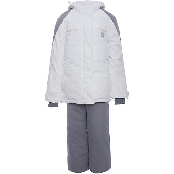 Комплект: куртка и полукомбенизон Batik для девочкиВерхняя одежда<br>Характеристики товара:<br><br>• цвет: белый, серый<br>• комплектация: куртка и полукомбинезон <br>• состав ткани: таслан<br>• подкладка: поларфлис<br>• утеплитель: термофин <br>• сезон: зима<br>• мембранное покрытие<br>• температурный режим: от -35 до 0<br>• водонепроницаемость: 5000 мм <br>• паропроницаемость: 5000 г/м2<br>• плотность утеплителя: куртка - 350 г/м2, полукомбинезон - 150 г/м2<br>• застежка: молния<br>• капюшон: без меха, отстегивается<br>• встроенный термодатчик<br>• страна бренда: Россия<br>• страна изготовитель: Россия<br><br>Этот мембранный комплект для девочки позволяет создать комфортный микроклимат даже в сильные морозы. Верх детской зимней куртки и полукомбинезона не промокает и не продувается. Мягкая подкладка детского комплекта для зимы приятна на ощупь. В нем удобно кататься на зимних склонах, а также прогуливаться по зимнему парку. <br><br>Комплект: куртка и полукомбинезон Batik (Батик) для девочки можно купить в нашем интернет-магазине.<br>Ширина мм: 356; Глубина мм: 10; Высота мм: 245; Вес г: 519; Цвет: белый/серый; Возраст от месяцев: 156; Возраст до месяцев: 168; Пол: Женский; Возраст: Детский; Размер: 164,146,158,152; SKU: 7027950;