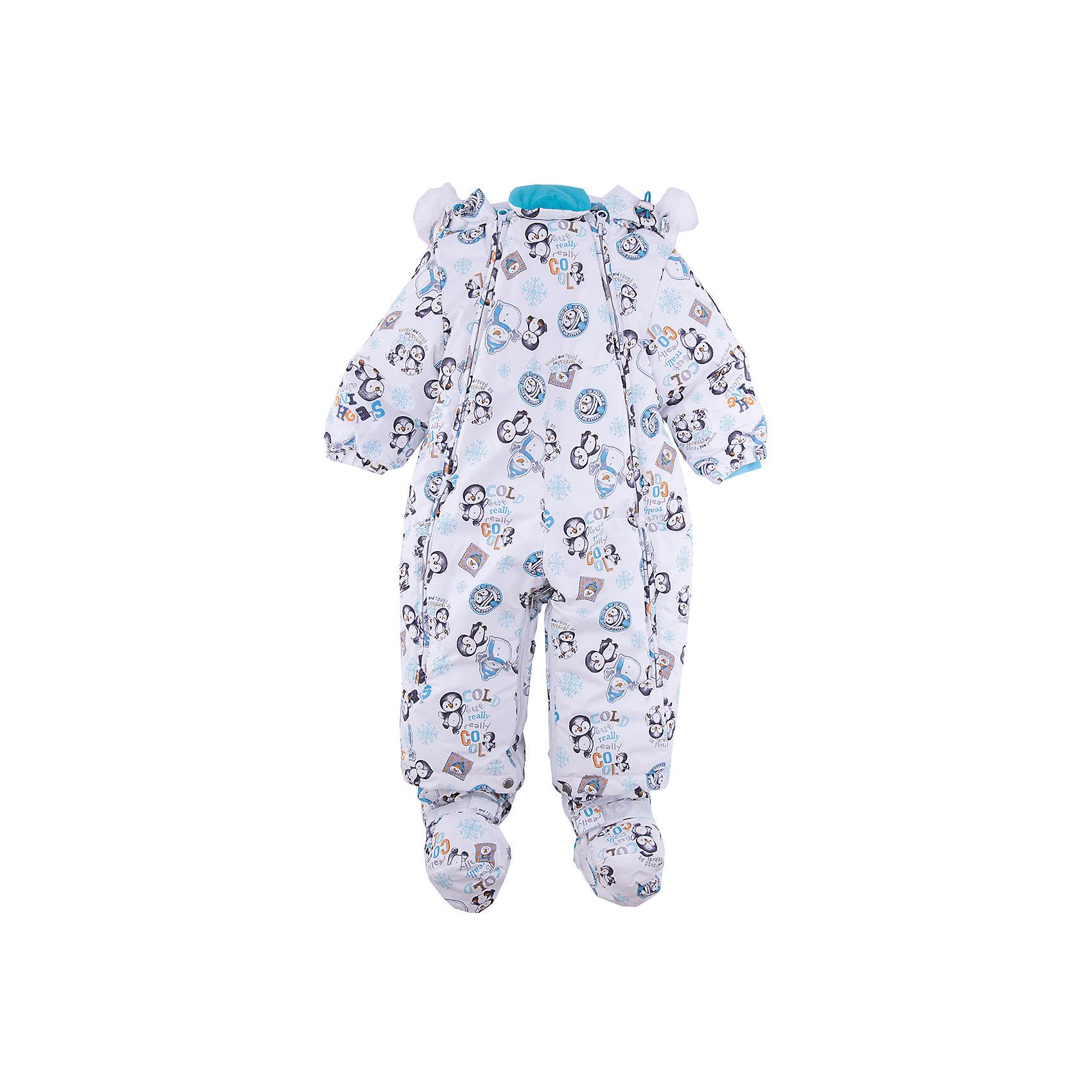 Комбинезон-трансформер Вилли Batik для мальчикаВерхняя одежда<br>Характеристики товара:<br><br>• цвет: голубой<br>• состав ткани: Poly 051 lamination<br>• подкладка: поларфлис<br>• утеплитель: слайтекс, овчина <br>• сезон: зима<br>• мембранное покрытие<br>• температурный режим: от -35 до 0<br>• водонепроницаемость: 5000 мм <br>• паропроницаемость: 5000 г/м2<br>• плотность утеплителя: 260 г/м2<br>• застежка: молния<br>• капюшон: с мехом<br>• пинетки, опушка и подстежка отстегиваются<br>• трансформируется в конверт<br>• страна бренда: Россия<br>• страна изготовитель: Россия<br><br>Верх этого детского комбинезона не промокает и не продувается. Мягкая подкладка детского комбинезона-трансформера для зимы приятна на ощупь. Удобный мембранный комбинезон-трансформер для мальчика дополнен съемными пинетками. Комбинезон-трансформер позволяет создать комфортный микроклимат даже в сильные морозы.<br><br>Комбинезон-трансформер Вилли Batik (Батик) для мальчика можно купить в нашем интернет-магазине.<br><br>Ширина мм: 356<br>Глубина мм: 10<br>Высота мм: 245<br>Вес г: 519<br>Цвет: голубой<br>Возраст от месяцев: 12<br>Возраст до месяцев: 15<br>Пол: Мужской<br>Возраст: Детский<br>Размер: 80,74<br>SKU: 7027963