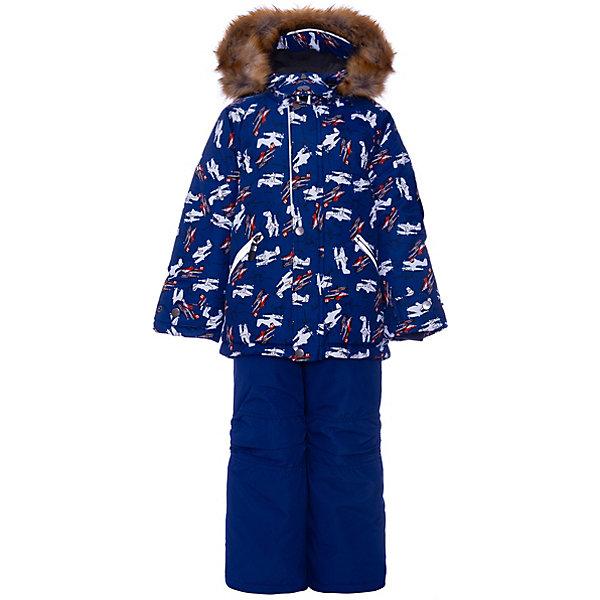 Комплект: куртка и полукомбенизон Дасти 2 Batik для мальчикаВерхняя одежда<br>Характеристики товара:<br><br>• цвет: серый<br>• комплектация: куртка и полукомбинезон <br>• состав ткани: таслан<br>• подкладка: поларфлис<br>• утеплитель: термофин<br>• сезон: зима<br>• мембранное покрытие<br>• температурный режим: от -35 до 0<br>• водонепроницаемость: 5000 мм <br>• паропроницаемость: 5000 г/м2<br>• плотность утеплителя: куртка - 350 г/м2, полукомбинезон - 200 г/м2<br>• застежка: молния<br>• капюшон: с мехом, отстегивается<br>• встроенный термодатчик<br>• страна бренда: Россия<br>• страна изготовитель: Россия<br><br>Дизайн детского комплекта для зимы продуман до мелочей. Этот мембранный комплект для мальчика дополнен удобным капюшоном и планкой от ветра. Мембранный комплект позволяет создать комфортный микроклимат даже в сильные морозы. Верх детской зимней куртки и полукомбинезона не промокает и не продувается. <br><br>Комплект: куртка и полукомбинезон Дасти 2 Batik (Батик) для мальчика можно купить в нашем интернет-магазине.<br><br>Ширина мм: 356<br>Глубина мм: 10<br>Высота мм: 245<br>Вес г: 519<br>Цвет: сине-серый<br>Возраст от месяцев: 36<br>Возраст до месяцев: 48<br>Пол: Мужской<br>Возраст: Детский<br>Размер: 104,122,116,110<br>SKU: 7027971