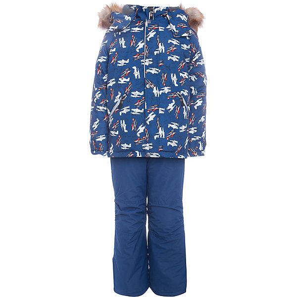 Комплект: куртка и полукомбенизон Дасти 2 Batik для мальчикаВерхняя одежда<br>Характеристики товара:<br><br>• цвет: синий<br>• комплектация: куртка и полукомбинезон <br>• состав ткани: таслан<br>• подкладка: поларфлис<br>• утеплитель: термофин<br>• сезон: зима<br>• мембранное покрытие<br>• температурный режим: от -35 до 0<br>• водонепроницаемость: 5000 мм <br>• паропроницаемость: 5000 г/м2<br>• плотность утеплителя: куртка - 350 г/м2, полукомбинезон - 200 г/м2<br>• застежка: молния<br>• капюшон: с мехом, отстегивается<br>• встроенный термодатчик<br>• страна бренда: Россия<br>• страна изготовитель: Россия<br><br>Непромокаемый и непродуваемый верх детского комплекта дополнен теплым наполнителем и мягкой подкладкой. Зимний мембранный комплект для мальчика легко чистится и долго служит. Детский комплект сделан легкого, но теплого материала. Зимний комплект для ребенка отличается стильным дизайном. <br><br>Комплект: куртка и полукомбинезон Дасти 2 Batik (Батик) для мальчика можно купить в нашем интернет-магазине.<br>Ширина мм: 356; Глубина мм: 10; Высота мм: 245; Вес г: 519; Цвет: синий; Возраст от месяцев: 72; Возраст до месяцев: 84; Пол: Мужской; Возраст: Детский; Размер: 122,116,104,110; SKU: 7027976;
