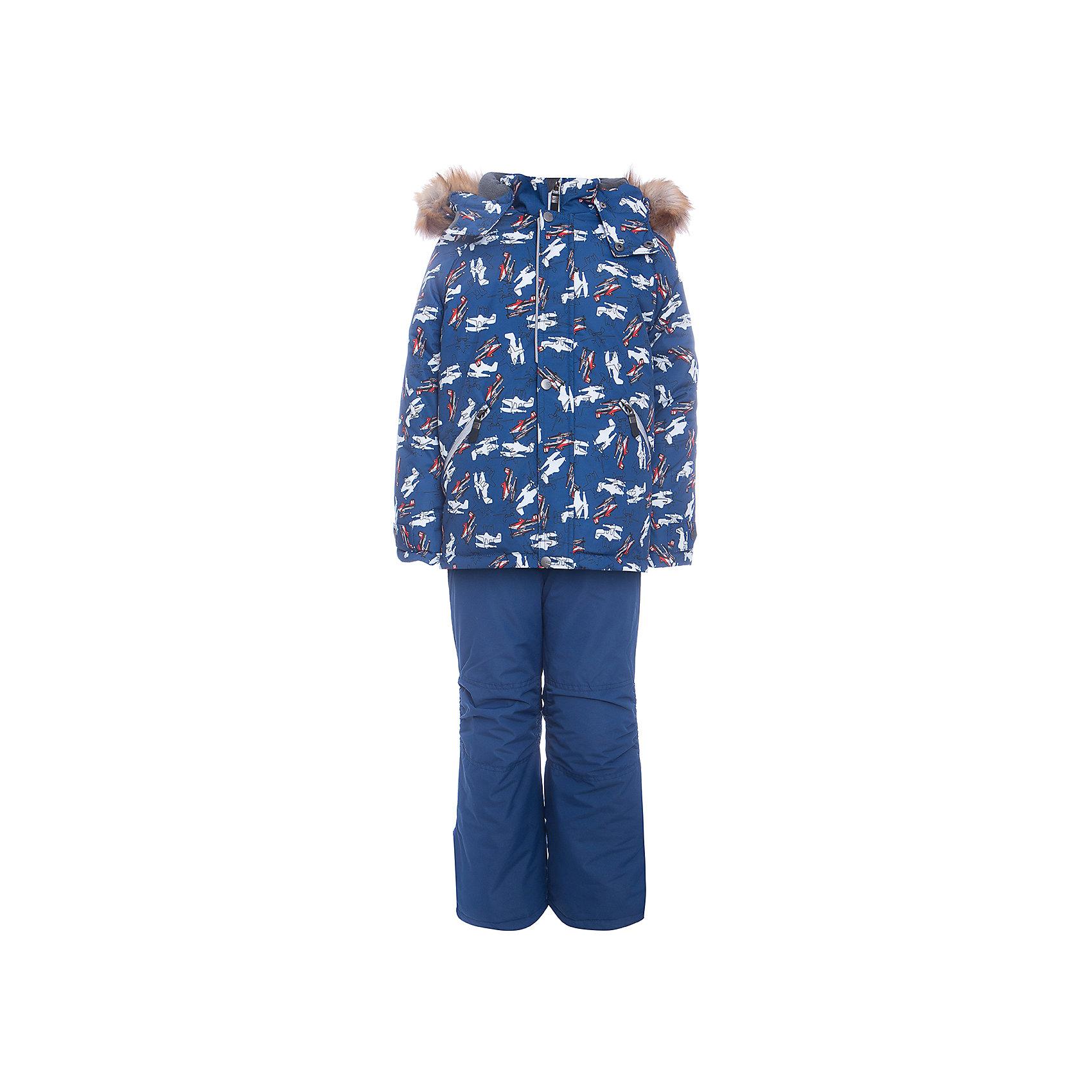Комплект: куртка и полукомбенизон Дасти 2 Batik для мальчикаВерхняя одежда<br>Характеристики товара:<br><br>• цвет: синий<br>• комплектация: куртка и полукомбинезон <br>• состав ткани: таслан<br>• подкладка: поларфлис<br>• утеплитель: термофин<br>• сезон: зима<br>• мембранное покрытие<br>• температурный режим: от -35 до 0<br>• водонепроницаемость: 5000 мм <br>• паропроницаемость: 5000 г/м2<br>• плотность утеплителя: куртка - 350 г/м2, полукомбинезон - 200 г/м2<br>• застежка: молния<br>• капюшон: с мехом, отстегивается<br>• встроенный термодатчик<br>• страна бренда: Россия<br>• страна изготовитель: Россия<br><br>Непромокаемый и непродуваемый верх детского комплекта дополнен теплым наполнителем и мягкой подкладкой. Зимний мембранный комплект для мальчика легко чистится и долго служит. Детский комплект сделан легкого, но теплого материала. Зимний комплект для ребенка отличается стильным дизайном. <br><br>Комплект: куртка и полукомбинезон Дасти 2 Batik (Батик) для мальчика можно купить в нашем интернет-магазине.<br><br>Ширина мм: 356<br>Глубина мм: 10<br>Высота мм: 245<br>Вес г: 519<br>Цвет: синий<br>Возраст от месяцев: 72<br>Возраст до месяцев: 84<br>Пол: Мужской<br>Возраст: Детский<br>Размер: 122,110,104,116<br>SKU: 7027976