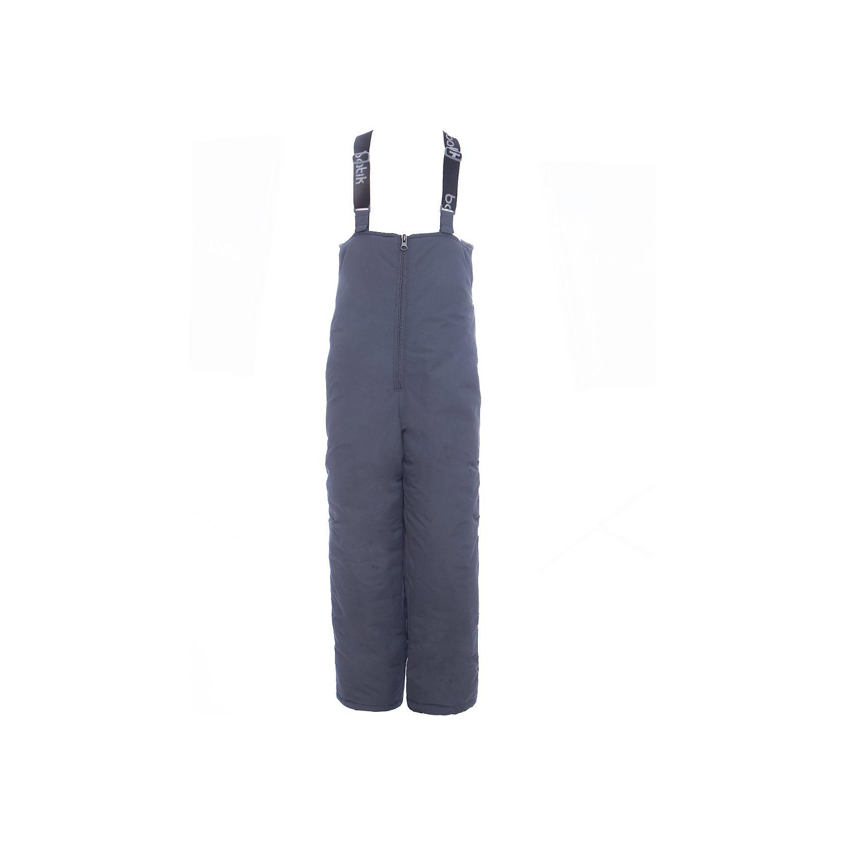 Полукомбинезон Робин Batik для мальчикаВерхняя одежда<br>Характеристики товара:<br><br>• цвет: графит<br>• состав ткани: таслан<br>• подкладка: поларфлис<br>• утеплитель: слайтекс<br>• сезон: зима<br>• мембранное покрытие<br>• температурный режим: от -35 до 0<br>• водонепроницаемость: 5000 мм <br>• паропроницаемость: 5000 г/м2<br>• плотность утеплителя: 150 г/м2<br>• застежка: молния<br>• лямки регулируются<br>• страна бренда: Россия<br>• страна изготовитель: Россия<br><br>Теплый полукомбинезон для ребенка отличается стильным дизайном, разработанным специально для детей. Этот детский полукомбинезон дополнен регулирующимися лямками. Зимний мембранный полукомбинезон для мальчика легко чистится и долго служит. Детский полукомбинезон сделан легкого, качественного и теплого материала. <br><br>Полукомбинезон Робин Batik (Батик) для мальчика можно купить в нашем интернет-магазине.<br><br>Ширина мм: 215<br>Глубина мм: 88<br>Высота мм: 191<br>Вес г: 336<br>Цвет: серый<br>Возраст от месяцев: 108<br>Возраст до месяцев: 120<br>Пол: Мужской<br>Возраст: Детский<br>Размер: 140,98,104,110,116,122,128,134<br>SKU: 7028023