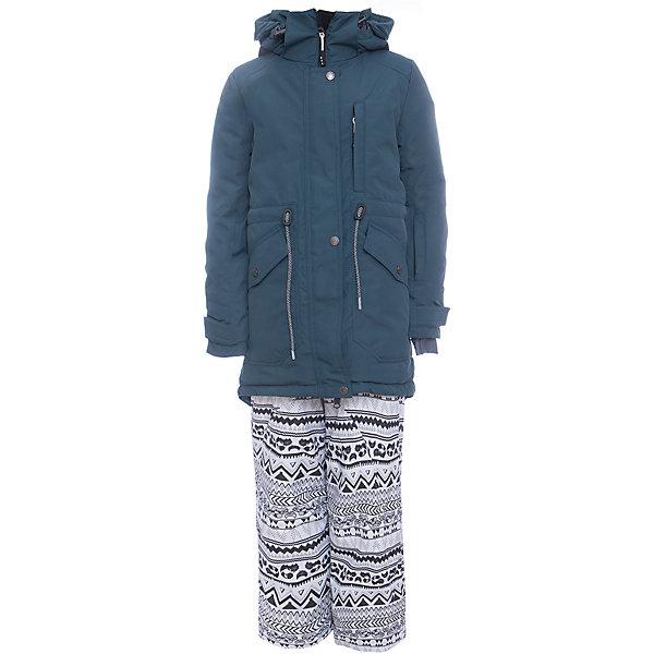 Комплект: куртка и полукомбенизон наушниками Batik для девочкиВерхняя одежда<br>Характеристики товара:<br><br>• цвет: бирюзовый<br>• комплектация: куртка и полукомбинезон <br>• состав ткани: Poly 051 lamination <br>• подкладка: поларфлис<br>• утеплитель: термофин <br>• сезон: зима<br>• мембранное покрытие<br>• температурный режим: от -25 до 0<br>• водонепроницаемость: 5000 мм <br>• паропроницаемость: 5000 г/м2<br>• плотность утеплителя: куртка - 250 г/м2, полукомбинезон - 100 г/м2<br>• застежка: молния<br>• капюшон: без меха, отстегивается<br>• наушники в комплекте<br>• встроенный термодатчик<br>• страна бренда: Россия<br>• страна изготовитель: Россия<br><br>Такой мембранный комплект для девочки дополнен наушниками. Он позволяет создать комфортный микроклимат даже в сильные морозы. Верх детской зимней куртки и полукомбинезона не промокает и не продувается. Мягкая подкладка детского комплекта для зимы приятна на ощупь.<br><br>Комплект: куртка и полукомбинезон Batik (Батик) для девочки можно купить в нашем интернет-магазине.<br>Ширина мм: 356; Глубина мм: 10; Высота мм: 245; Вес г: 519; Цвет: голубой; Возраст от месяцев: 108; Возраст до месяцев: 120; Пол: Женский; Возраст: Детский; Размер: 140,164,158,152,146; SKU: 7028038;