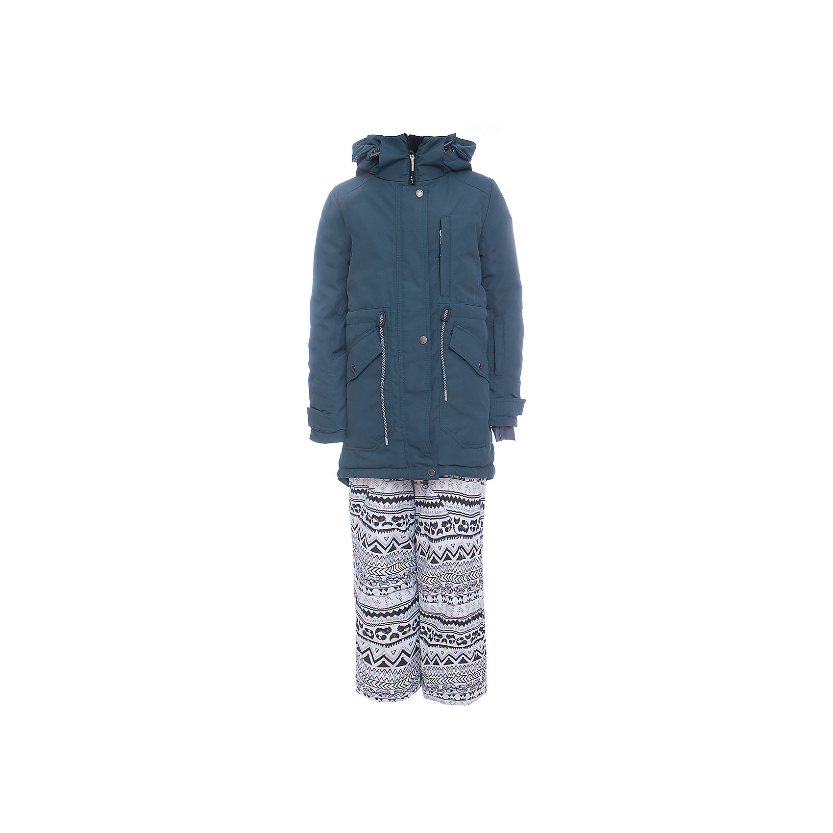 Комплект: куртка и полукомбенизон наушниками Batik для девочкиВерхняя одежда<br>Комплект: куртка и полукомбенизон наушниками Batik для девочки <br>Верхняя ткань обладает водоотталкивающими и ветрозащитными свойствами мембраны. Куртка на молнии с ветрозащитной планкой и юбкой внутри, кулиской на талии и капюшоном на молнии. Полукомбинезон с отстегивающимися лямками.<br>Состав:<br>Ткань верха - POLY 051 LAMINATION;  Утеплитель - Слайтекс 250;  Подкладка - Полар флис;<br><br>Ширина мм: 356<br>Глубина мм: 10<br>Высота мм: 245<br>Вес г: 519<br>Цвет: голубой<br>Возраст от месяцев: 108<br>Возраст до месяцев: 120<br>Пол: Женский<br>Возраст: Детский<br>Размер: 140,164,158,152,146<br>SKU: 7028038