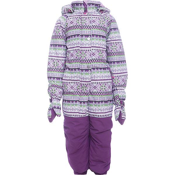 Комбинезон Тина Batik для девочкиВерхняя одежда<br>Характеристики товара:<br><br>• цвет: сиреневый<br>• состав ткани: таслан<br>• подкладка: поларфлис<br>• утеплитель: слайтекс<br>• сезон: зима<br>• мембранное покрытие<br>• температурный режим: от -35 до 0<br>• водонепроницаемость: 5000 мм <br>• паропроницаемость: 5000 г/м2<br>• плотность утеплителя: 300 г/м2<br>• застежка: молния<br>• капюшон: съемный, без меха<br>• краги<br>• съемные силиконовые штрипки<br>• страна бренда: Россия<br>• страна изготовитель: Россия<br><br>Подкладка такого комбинезона для девочки сделана из поларфлис - она мягкая и теплая. Детский зимний комбинезон дополнен капюшоном, силиконовыми штрипками и удобной молнией с ветрозащитной планкой. Этот детский комбинезон декорирован принтом. Верх детского комбинезона надежно защищает от холода и влаги. <br><br>Комбинезон Тина Batik (Батик) для девочки можно купить в нашем интернет-магазине.<br>Ширина мм: 356; Глубина мм: 10; Высота мм: 245; Вес г: 519; Цвет: лиловый; Возраст от месяцев: 12; Возраст до месяцев: 18; Пол: Женский; Возраст: Детский; Размер: 86,104,98,92; SKU: 7028086;