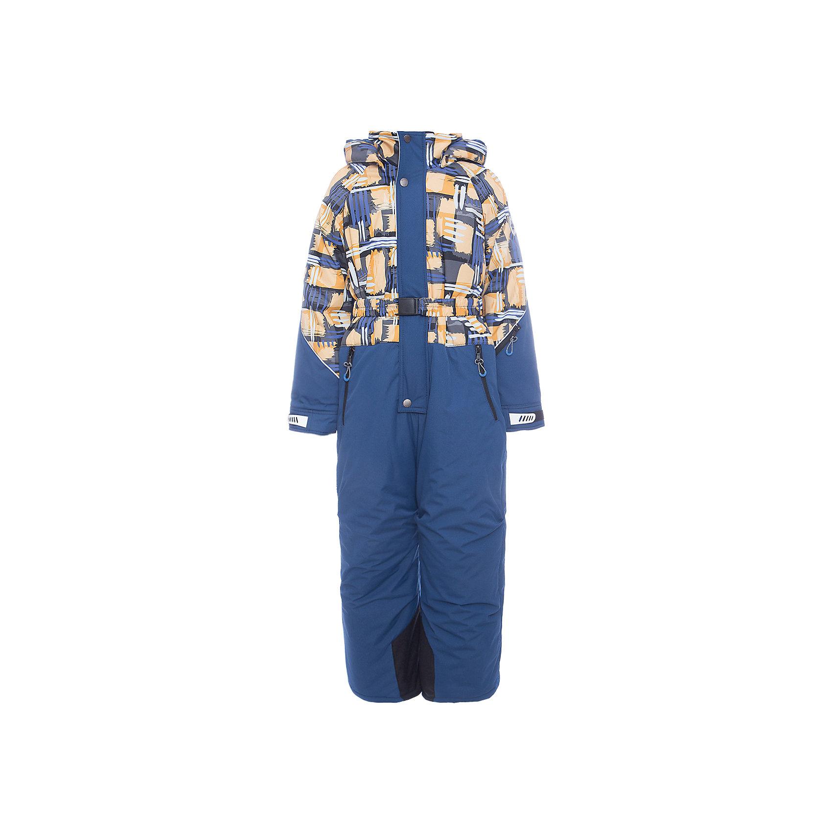 Комбинезон Никита Batik для мальчикаВерхняя одежда<br>Характеристики товара:<br><br>• цвет: оранжевый<br>• состав ткани: таслан<br>• подкладка: поларфлис<br>• утеплитель: слайтекс<br>• сезон: зима<br>• мембранное покрытие<br>• температурный режим: от -35 до 0<br>• водонепроницаемость: 5000 мм <br>• паропроницаемость: 5000 г/м2<br>• плотность утеплителя: 300 г/м2<br>• застежка: молния<br>• капюшон: съемный, без меха<br>• износостойкие вставки на брючинах<br>• страна бренда: Россия<br>• страна изготовитель: Россия<br><br>Подкладка зимнего комбинезона для мальчика сделана из мягкого поларфлис. Детский зимний комбинезон дополнен капюшоном, плясом и удобной молнией с ветрозащитной планкой. Детский комбинезон декорирован принтом. Верх детского комбинезона надежно защитит от непогоды и мороза благодаря мембранному покрытию. <br><br>Комбинезон Никита Batik (Батик) для мальчика можно купить в нашем интернет-магазине.<br><br>Ширина мм: 356<br>Глубина мм: 10<br>Высота мм: 245<br>Вес г: 519<br>Цвет: желтый<br>Возраст от месяцев: 72<br>Возраст до месяцев: 84<br>Пол: Мужской<br>Возраст: Детский<br>Размер: 122,104,110,116<br>SKU: 7028101