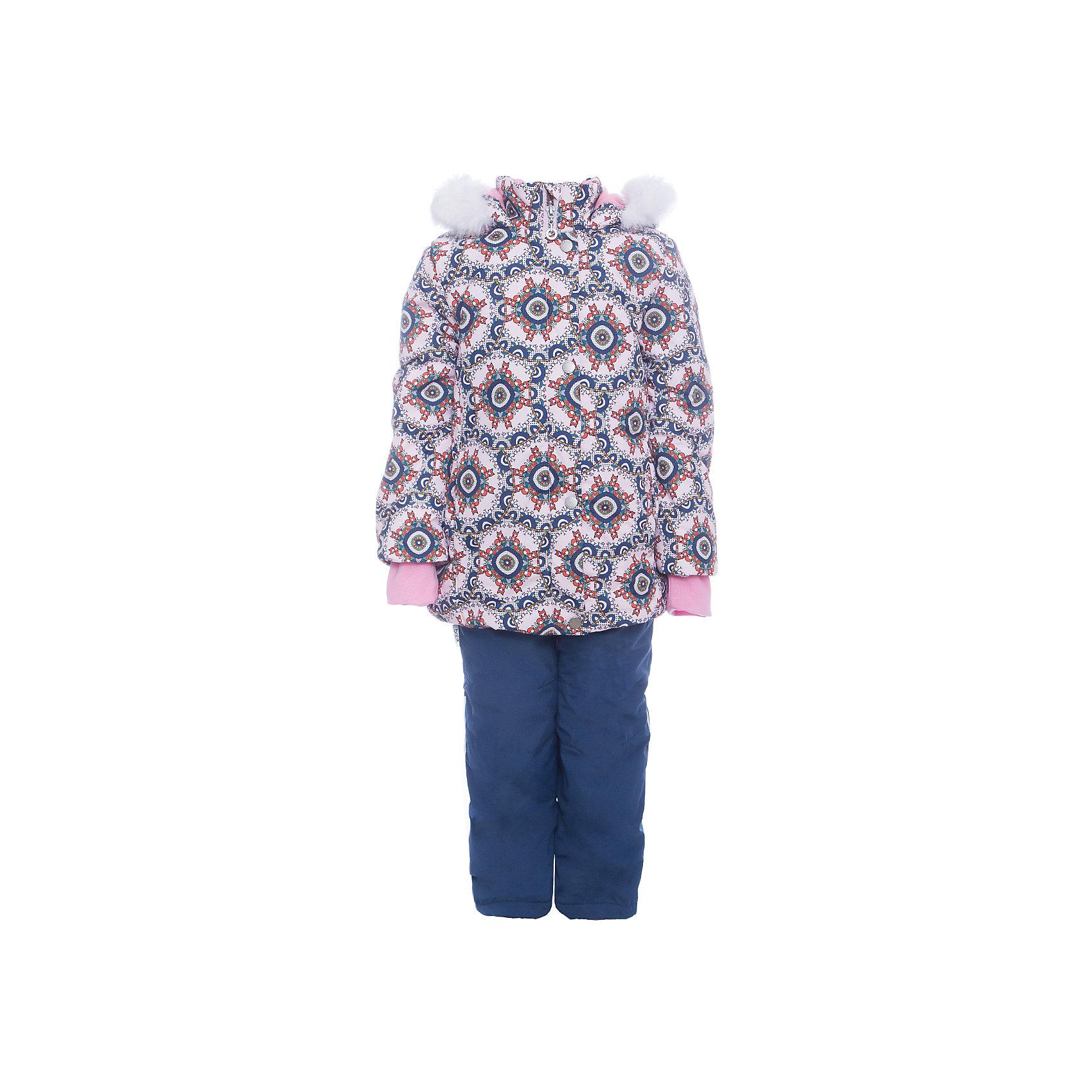 Комплект: куртка и полукомбенизон Дарина Batik для девочкиВерхняя одежда<br>Комплект: куртка и полукомбенизон Дарина Batik для девочки <br>Верхняя ткань обладает водоотталкивающими и ветрозащитными свойствами мембраны. Куртка на молнии с ветрозащитной планкой и светоотражающими элементами. Полукомбинезон на молнии с регулируемыми лямками и силиконовыми штрипками для ботинок у «Дарины». Капюшон на молнии со съемной опушкой.<br>Состав:<br>Ткань верха - TASLON OXFORD;  Утеплитель - Слайтекс 350;  Подкладка - Полар флис;<br><br>Ширина мм: 356<br>Глубина мм: 10<br>Высота мм: 245<br>Вес г: 519<br>Цвет: синий<br>Возраст от месяцев: 60<br>Возраст до месяцев: 72<br>Пол: Женский<br>Возраст: Детский<br>Размер: 116,104,110<br>SKU: 7028136
