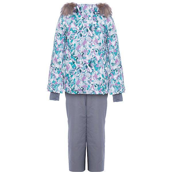 Комплект: куртка и полукомбенизон Герда Batik для девочкиВерхняя одежда<br>Характеристики товара:<br><br>• цвет: серый<br>• комплектация: куртка и полукомбинезон <br>• состав ткани: таслан<br>• подкладка: поларфлис<br>• утеплитель: слайтекс, синтепон <br>• сезон: зима<br>• мембранное покрытие<br>• температурный режим: от -35 до 0<br>• водонепроницаемость: 5000 мм <br>• паропроницаемость: 5000 г/м2<br>• плотность утеплителя: куртка - 350 г/м2, полукомбинезон - 200 г/м2<br>• застежка: молния<br>• капюшон: с мехом, отстегивается<br>• встроенный термодатчик<br>• страна бренда: Россия<br>• страна изготовитель: Россия<br><br>Модный мембранный комплект Batik для девочки дополнен элементами, обеспечивающими тепло и комфорт. Капюшон, карманы, молния - всё это делает зимний комплект очень удобным. Подкладка детского комплекта для зимы приятная на ощупь и мягкая.<br><br>Комплект: куртка и полукомбинезон Герда Batik (Батик) для девочки можно купить в нашем интернет-магазине.<br>Ширина мм: 356; Глубина мм: 10; Высота мм: 245; Вес г: 519; Цвет: серый; Возраст от месяцев: 84; Возраст до месяцев: 96; Пол: Женский; Возраст: Детский; Размер: 128,140,134; SKU: 7028144;