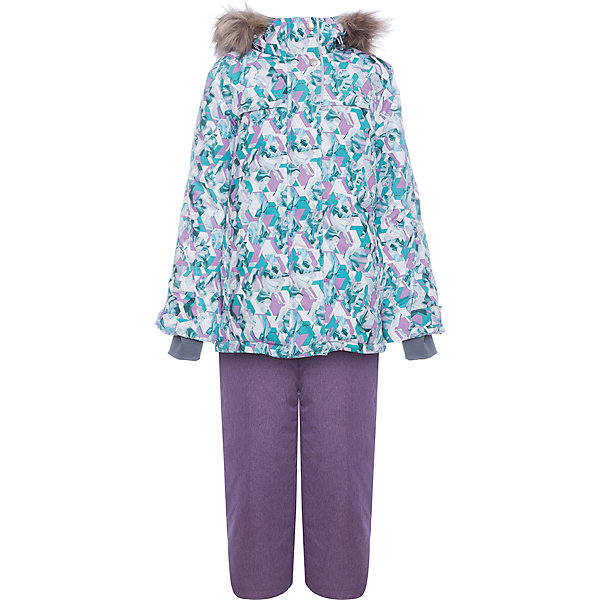 Комплект: куртка и полукомбенизон Герда Batik для девочкиВерхняя одежда<br>Характеристики товара:<br><br>• цвет: фиолетовый<br>• комплектация: куртка и полукомбинезон <br>• состав ткани: таслан<br>• подкладка: поларфлис<br>• утеплитель: слайтекс, синтепон <br>• сезон: зима<br>• мембранное покрытие<br>• температурный режим: от -35 до 0<br>• водонепроницаемость: 5000 мм <br>• паропроницаемость: 5000 г/м2<br>• плотность утеплителя: куртка - 350 г/м2, полукомбинезон - 200 г/м2<br>• застежка: молния<br>• капюшон: с мехом, отстегивается<br>• встроенный термодатчик<br>• страна бренда: Россия<br>• страна изготовитель: Россия<br><br>Верх мембранного комплекта плотный, подкладка детского комплекта для зимы приятная на ощупь и мягкая. Такой мембранный комплект Batik для девочки дополнен элементами, обеспечивающими тепло и комфорт. Капюшон, карманы, молния - всё это делает зимний комплект очень удобным. <br><br>Комплект: куртка и полукомбинезон Герда Batik (Батик) для девочки можно купить в нашем интернет-магазине.<br>Ширина мм: 356; Глубина мм: 10; Высота мм: 245; Вес г: 519; Цвет: лиловый; Возраст от месяцев: 120; Возраст до месяцев: 132; Пол: Женский; Возраст: Детский; Размер: 146,158,152; SKU: 7028156;
