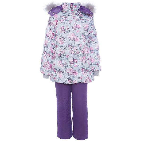 Комплект: куртка и полукомбенизон Белла Batik для девочкиВерхняя одежда<br>Характеристики товара:<br><br>• цвет: сиреневый<br>• комплектация: куртка и полукомбинезон <br>• состав ткани: твил<br>• подкладка: поларфлис<br>• утеплитель: слайтекс, синтепон <br>• сезон: зима<br>• мембранное покрытие<br>• температурный режим: от -35 до 0<br>• водонепроницаемость: 5000 мм <br>• паропроницаемость: 5000 г/м2<br>• плотность утеплителя: куртка - 300 г/м2, полукомбинезон - 200 г/м2<br>• застежка: молния<br>• капюшон: с мехом, отстегивается<br>• встроенный термодатчик<br>• страна бренда: Россия<br>• страна изготовитель: Россия<br><br>Модный мембранный комплект для девочки декорирован стильным принтом на курке и опушкой. Зимний комплект подходит и для морозной и сырой погоды. Материал детской зимней куртки и полукомбинезона надежно защитит от холода и ветра. Мягкая подкладка детского комплекта для зимы приятна на ощупь.<br><br>Комплект: куртка и полукомбинезон Белла Batik (Батик) для девочки можно купить в нашем интернет-магазине.<br>Ширина мм: 356; Глубина мм: 10; Высота мм: 245; Вес г: 519; Цвет: лиловый; Возраст от месяцев: 48; Возраст до месяцев: 60; Пол: Женский; Возраст: Детский; Размер: 110,104,122,116; SKU: 7028177;