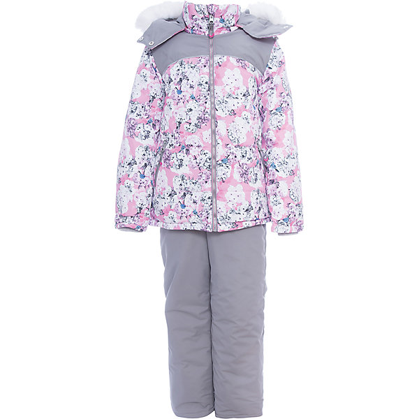 Комплект: куртка и полукомбенизон Ирина Batik для девочкиВерхняя одежда<br>Характеристики товара:<br><br>• цвет: розовый<br>• комплектация: куртка и полукомбинезон <br>• состав ткани: таслан<br>• подкладка: поларфлис<br>• утеплитель: слайтекс, синтепон <br>• сезон: зима<br>• мембранное покрытие<br>• температурный режим: от -35 до 0<br>• водонепроницаемость: 5000 мм <br>• паропроницаемость: 5000 г/м2<br>• плотность утеплителя: куртка - 300 г/м2, полукомбинезон - 200 г/м2<br>• застежка: молния<br>• капюшон: с мехом, отстегивается<br>• встроенный термодатчик<br>• страна бренда: Россия<br>• страна изготовитель: Россия<br><br>Плотный материал детского зимнего комплекта, усиленный мембраной, не промокает и не продувается. Флисовая подкладка комплекта для зимы обеспечивает комфорт и тепло. Мембранный комплект для девочки украшен принтом и опушкой на капюшоне. Зимний комплект создан с учетом особенностей строения ребенка. <br><br>Комплект: куртка и полукомбинезон Ирина Batik (Батик) для девочки можно купить в нашем интернет-магазине.<br><br>Ширина мм: 356<br>Глубина мм: 10<br>Высота мм: 245<br>Вес г: 519<br>Цвет: розовый<br>Возраст от месяцев: 48<br>Возраст до месяцев: 60<br>Пол: Женский<br>Возраст: Детский<br>Размер: 110,134,128,122,116<br>SKU: 7028182