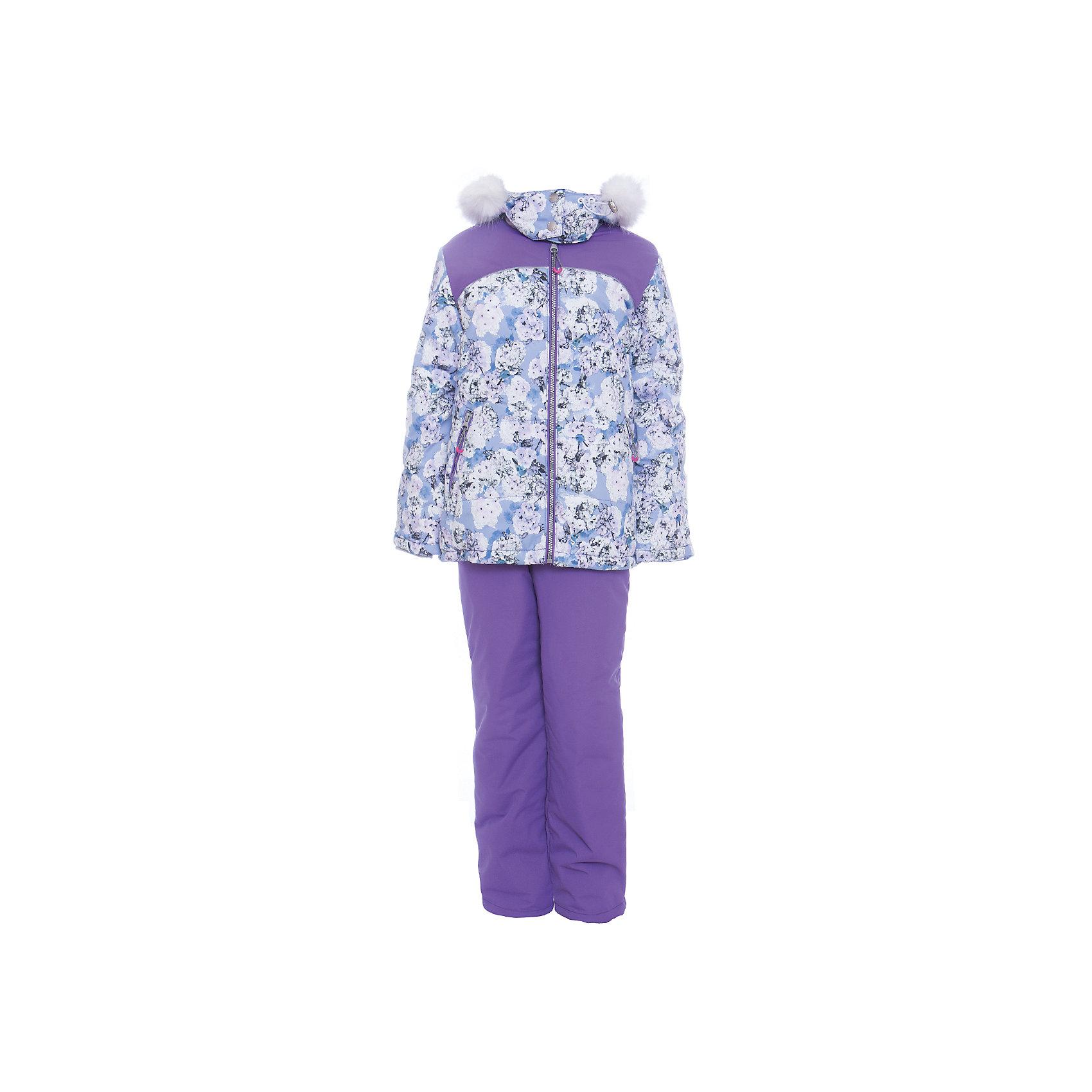 Комплект: куртка и полукомбенизон Ирина Batik для девочкиВерхняя одежда<br>Характеристики товара:<br><br>• цвет: сиреневый<br>• комплектация: куртка и полукомбинезон <br>• состав ткани: таслан<br>• подкладка: поларфлис<br>• утеплитель: слайтекс, синтепон <br>• сезон: зима<br>• мембранное покрытие<br>• температурный режим: от -35 до 0<br>• водонепроницаемость: 5000 мм <br>• паропроницаемость: 5000 г/м2<br>• плотность утеплителя: куртка - 300 г/м2, полукомбинезон - 200 г/м2<br>• застежка: молния<br>• капюшон: с мехом, отстегивается<br>• встроенный термодатчик<br>• страна бренда: Россия<br>• страна изготовитель: Россия<br><br>Модный зимний комплект Batik для девочки оснащен функциональными элементами, обеспечивающими тепло и комфорт. Капюшон, карманы, молния - всё это делает зимний комплект очень удобным. Верх мембранного комплекта плотный и износостойкий, подкладка детского комплекта сделана из мягкого теплого материала.<br><br>Комплект: куртка и полукомбинезон Ирина Batik (Батик) для девочки можно купить в нашем интернет-магазине.<br><br>Ширина мм: 356<br>Глубина мм: 10<br>Высота мм: 245<br>Вес г: 519<br>Цвет: лиловый<br>Возраст от месяцев: 96<br>Возраст до месяцев: 108<br>Пол: Женский<br>Возраст: Детский<br>Размер: 134,110,116,122,128<br>SKU: 7028188
