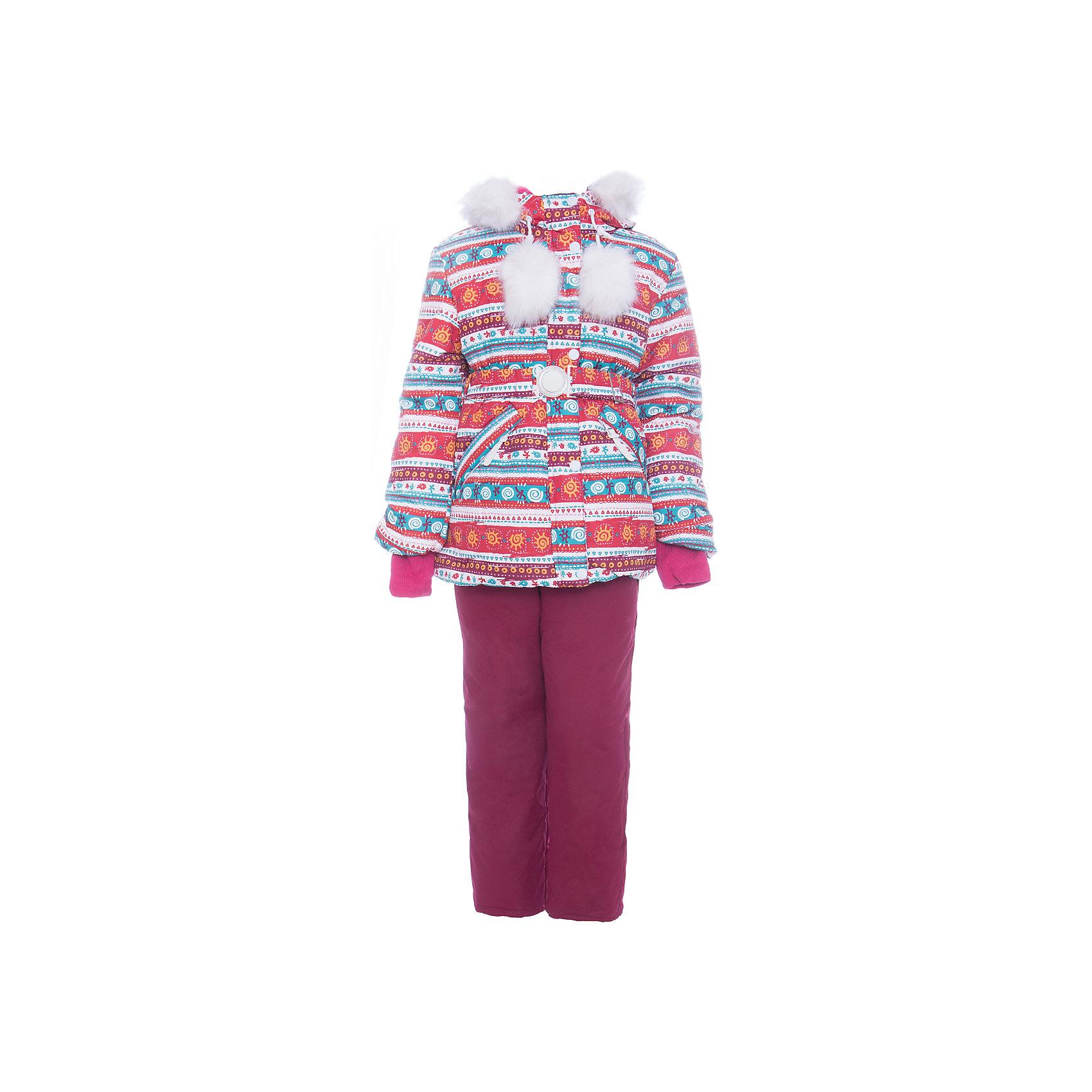 Комплект: куртка и полукомбенизон Майя Batik для девочкиВерхняя одежда<br>Характеристики товара:<br><br>• цвет: белый<br>• комплектация: куртка и полукомбинезон <br>• состав ткани: таслан<br>• подкладка: поларфлис<br>• утеплитель: слайтекс, синтепон <br>• сезон: зима<br>• мембранное покрытие<br>• температурный режим: от -35 до 0<br>• водонепроницаемость: 5000 мм <br>• паропроницаемость: 5000 г/м2<br>• плотность утеплителя: куртка - 350 г/м2, полукомбинезон - 200 г/м2<br>• застежка: молния<br>• капюшон: с мехом, отстегивается<br>• встроенный термодатчик<br>• страна бренда: Россия<br>• страна изготовитель: Россия<br><br>Этот мембранный комплект для девочки дополнен снегозащитными манжетами внутри рукавов и брючин. Зимний комплект подходит и для морозной и сырой погоды. Материал детской зимней куртки и полукомбинезона надежно защитит от холода и ветра. Мягкая подкладка детского комплекта для зимы приятна на ощупь.<br><br>Комплект: куртка и полукомбинезон Майя Batik (Батик) для девочки можно купить в нашем интернет-магазине.<br><br>Ширина мм: 356<br>Глубина мм: 10<br>Высота мм: 245<br>Вес г: 519<br>Цвет: белый<br>Возраст от месяцев: 36<br>Возраст до месяцев: 48<br>Пол: Женский<br>Возраст: Детский<br>Размер: 104,86,92,98<br>SKU: 7028194