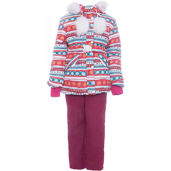 Комплект: куртка и полукомбенизон Майя Batik для девочкиВерхняя одежда<br>Характеристики товара:<br><br>• цвет: белый, бордовый<br>• комплектация: куртка и полукомбинезон <br>• состав ткани: таслан<br>• подкладка: поларфлис<br>• утеплитель: слайтекс, синтепон <br>• сезон: зима<br>• мембранное покрытие<br>• температурный режим: от -35 до 0<br>• водонепроницаемость: 5000 мм <br>• паропроницаемость: 5000 г/м2<br>• плотность утеплителя: куртка - 350 г/м2, полукомбинезон - 200 г/м2<br>• застежка: молния<br>• капюшон: с мехом, отстегивается<br>• встроенный термодатчик<br>• страна бренда: Россия<br>• страна изготовитель: Россия<br><br> Мембранный материал детской зимней куртки и полукомбинезона надежно защитит от холода и ветра. Мягкая подкладка детского комплекта для зимы приятна на ощупь. Этот мембранный комплект для девочки дополнен снегозащитными манжетами внутри рукавов и брючин. Зимний комплект подходит и для морозной и сырой погоды.<br><br>Комплект: куртка и полукомбинезон Майя Batik (Батик) для девочки можно купить в нашем интернет-магазине.<br><br>Ширина мм: 356<br>Глубина мм: 10<br>Высота мм: 245<br>Вес г: 519<br>Цвет: белый/бордовый<br>Возраст от месяцев: 48<br>Возраст до месяцев: 60<br>Пол: Женский<br>Возраст: Детский<br>Размер: 110,128,122,116<br>SKU: 7028209