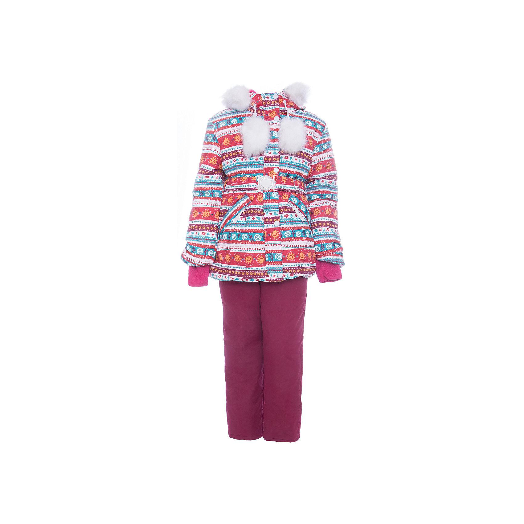 Комплект: куртка и полукомбенизон Майя Batik для девочкиВерхняя одежда<br>Характеристики товара:<br><br>• цвет: белый<br>• комплектация: куртка и полукомбинезон <br>• состав ткани: таслан<br>• подкладка: поларфлис<br>• утеплитель: слайтекс, синтепон <br>• сезон: зима<br>• мембранное покрытие<br>• температурный режим: от -35 до 0<br>• водонепроницаемость: 5000 мм <br>• паропроницаемость: 5000 г/м2<br>• плотность утеплителя: куртка - 350 г/м2, полукомбинезон - 200 г/м2<br>• застежка: молния<br>• капюшон: с мехом, отстегивается<br>• встроенный термодатчик<br>• страна бренда: Россия<br>• страна изготовитель: Россия<br><br> Мембранный материал детской зимней куртки и полукомбинезона надежно защитит от холода и ветра. Мягкая подкладка детского комплекта для зимы приятна на ощупь. Этот мембранный комплект для девочки дополнен снегозащитными манжетами внутри рукавов и брючин. Зимний комплект подходит и для морозной и сырой погоды.<br><br>Комплект: куртка и полукомбинезон Майя Batik (Батик) для девочки можно купить в нашем интернет-магазине.<br><br>Ширина мм: 356<br>Глубина мм: 10<br>Высота мм: 245<br>Вес г: 519<br>Цвет: белый<br>Возраст от месяцев: 72<br>Возраст до месяцев: 84<br>Пол: Женский<br>Возраст: Детский<br>Размер: 122,116,110,128<br>SKU: 7028209