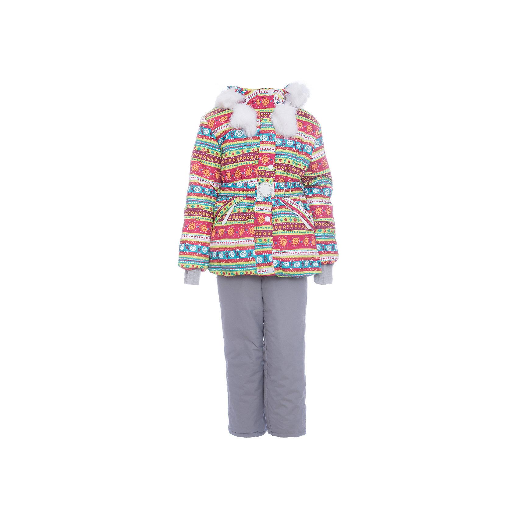Комплект: куртка и полукомбенизон Майя Batik для девочкиВерхняя одежда<br>Комплект: куртка и полукомбенизон Майя Batik для девочки <br>Верхняя ткань обладает водоотталкивающими и ветрозащитными свойствами мембраны. Куртка на молнии с ветрозащитной планкой, светоотражающими элементами и поясом на талии. Полукомбинезон на молнии с регулируемыми лямками и силиконовыми штрипками для ботинок. Капюшон на молнии со съемной опушкой. В комплекте идет толстовка.<br>Состав:<br>Ткань верха - TASLON OXFORD;  Утеплитель - Слайтекс 350;  Подкладка - Полар флис;<br><br>Ширина мм: 356<br>Глубина мм: 10<br>Высота мм: 245<br>Вес г: 519<br>Цвет: зеленый<br>Возраст от месяцев: 84<br>Возраст до месяцев: 96<br>Пол: Женский<br>Возраст: Детский<br>Размер: 128,110,116,122<br>SKU: 7028219