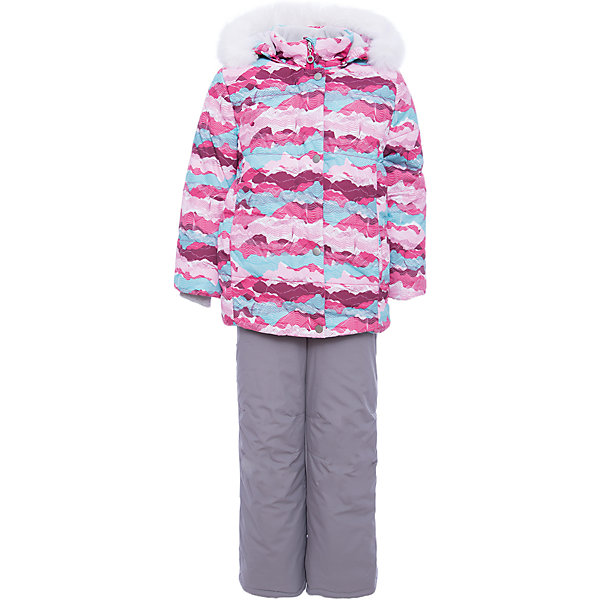 Комплект: куртка и полукомбенизон Регина Batik для девочкиВерхняя одежда<br>Характеристики товара:<br><br>• цвет: розовый<br>• комплектация: куртка и полукомбинезон <br>• состав ткани: таслан<br>• подкладка: поларфлис<br>• утеплитель: слайтекс, синтепон <br>• сезон: зима<br>• мембранное покрытие<br>• температурный режим: от -35 до 0<br>• водонепроницаемость: 5000 мм <br>• паропроницаемость: 5000 г/м2<br>• плотность утеплителя: куртка - 350 г/м2, полукомбинезон - 200 г/м2<br>• застежка: молния<br>• капюшон: с мехом, отстегивается<br>• встроенный термодатчик<br>• страна бренда: Россия<br>• страна изготовитель: Россия<br><br>Высокотехнологичный мембранный материал детского комплекте защитит от холода и ветра. Мягкая подкладка детского комплекта для зимы приятна на ощупь. Этот мембранный комплект для девочки дополнен снегозащитными манжетами внутри рукавов и брючин. Зимний комплект подходит и для морозов и сырости.<br><br>Комплект: куртка и полукомбинезон Регина Batik (Батик) для девочки можно купить в нашем интернет-магазине.<br>Ширина мм: 356; Глубина мм: 10; Высота мм: 245; Вес г: 519; Цвет: розовый; Возраст от месяцев: 60; Возраст до месяцев: 72; Пол: Женский; Возраст: Детский; Размер: 116,122,104,110; SKU: 7028224;