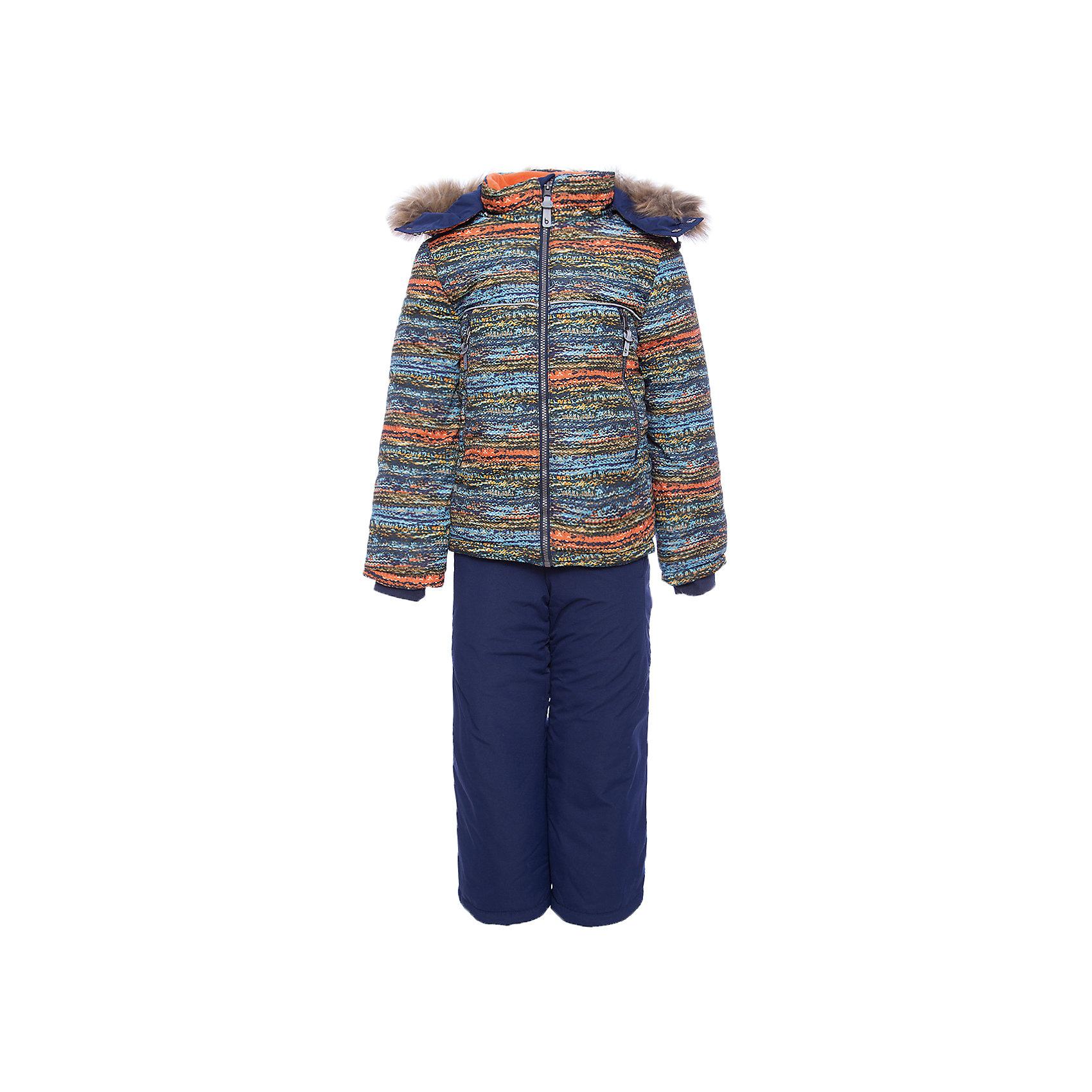 Комплект: куртка и полукомбенизон Алёша Batik для мальчикаВерхняя одежда<br>Характеристики товара:<br><br>• цвет: красный<br>• комплектация: куртка и полукомбинезон <br>• состав ткани: таслан<br>• подкладка: поларфлис<br>• утеплитель: слайтекс<br>• сезон: зима<br>• мембранное покрытие<br>• температурный режим: от -35 до 0<br>• водонепроницаемость: 5000 мм <br>• паропроницаемость: 5000 г/м2<br>• плотность утеплителя: куртка - 350 г/м2, полукомбинезон - 200 г/м2<br>• застежка: молния<br>• капюшон: с мехом, отстегивается<br>• силиконовые штрипки<br>• встроенный термодатчик<br>• страна бренда: Россия<br>• страна изготовитель: Россия<br><br>Этот теплый зимний комплект для мальчика дополнен штрипками и отстегивающимися лямками. Детский комплект защитит ребенка от попадания снега внутрь благодаря манжетам. Мягкая подкладка детского комплекта для зимы делает его очень комфортным. Мембранное покрытие такого комплекта для мальчика позволяет ребенку не мерзнуть в сильный мороз. <br><br>Комплект: куртка и полукомбинезон Алёша Batik (Батик) для мальчика можно купить в нашем интернет-магазине.<br><br>Ширина мм: 356<br>Глубина мм: 10<br>Высота мм: 245<br>Вес г: 519<br>Цвет: красный<br>Возраст от месяцев: 60<br>Возраст до месяцев: 72<br>Пол: Мужской<br>Возраст: Детский<br>Размер: 116,92,98,104,110<br>SKU: 7028293