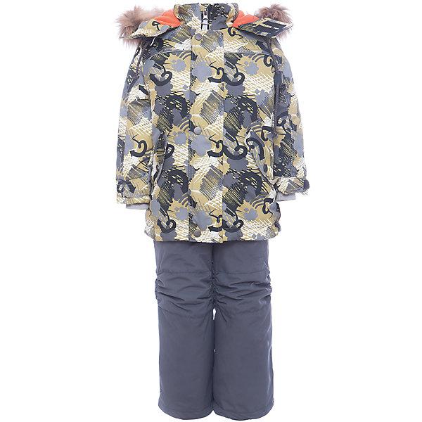 Комплект: куртка и полукомбенизон Дима Batik для мальчикаВерхняя одежда<br>Характеристики товара:<br><br>• цвет: хаки<br>• комплектация: куртка и полукомбинезон, толстовка<br>• состав ткани: таслан<br>• подкладка: поларфлис<br>• утеплитель: слайтекс<br>• сезон: зима<br>• мембранное покрытие<br>• температурный режим: от -35 до 0<br>• водонепроницаемость: 5000 мм <br>• паропроницаемость: 5000 г/м2<br>• плотность утеплителя: куртка - 350 г/м2, полукомбинезон - 200 г/м2<br>• застежка: молния<br>• капюшон: с мехом, отстегивается<br>• в комплекте толстовка<br>• встроенный термодатчик<br>• страна бренда: Россия<br>• страна изготовитель: Россия<br><br>Практичный зимний комплект дополнен капюшоном, карманами и удобной молнией. Такой зимний комплект для мальчика декорирован оригинальным принтом. Прочное мембранное покрытие детского комплекта надежно защищает от холода и влаги. Подкладка комплекта для мальчика мягкая и теплая. <br><br>Комплект: куртка и полукомбинезон Дима Batik (Батик) для мальчика можно купить в нашем интернет-магазине.<br><br>Ширина мм: 356<br>Глубина мм: 10<br>Высота мм: 245<br>Вес г: 519<br>Цвет: хаки<br>Возраст от месяцев: 12<br>Возраст до месяцев: 18<br>Пол: Мужской<br>Возраст: Детский<br>Размер: 86,116,110,104,98,92<br>SKU: 7028313