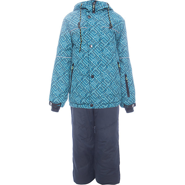 Комплект: куртка и полукомбенизон Юпитер Batik для мальчикаВерхняя одежда<br>Характеристики товара:<br><br>• цвет: бирюзовый<br>• комплектация: куртка и полукомбинезон<br>• состав ткани: таслан<br>• подкладка: поларфлис<br>• утеплитель: слайтекс<br>• сезон: зима<br>• мембранное покрытие<br>• температурный режим: от -35 до 0<br>• водонепроницаемость: 5000 мм <br>• паропроницаемость: 5000 г/м2<br>• плотность утеплителя: куртка - 350 г/м2, полукомбинезон - 200 г/м2<br>• застежка: молния<br>• капюшон: без меха, отстегивается<br>• встроенный термодатчик<br>• страна бренда: Россия<br>• страна изготовитель: Россия<br><br>Зимний комплект для ребенка оснащен удобной молнией и капюшоном. Модный мембранный комплект для мальчика элементарно чистится и долго служит. Детский комплект для зимы сделан легкого, но теплого материала. Этот мембранный комплект для мальчика отличается удобными внутренними манжетами. <br><br>Комплект: куртка и полукомбинезон Юпитер Batik (Батик) для мальчика можно купить в нашем интернет-магазине.<br><br>Ширина мм: 356<br>Глубина мм: 10<br>Высота мм: 245<br>Вес г: 519<br>Цвет: бирюзовый<br>Возраст от месяцев: 96<br>Возраст до месяцев: 108<br>Пол: Мужской<br>Возраст: Детский<br>Размер: 134,128,122,146,140<br>SKU: 7028329