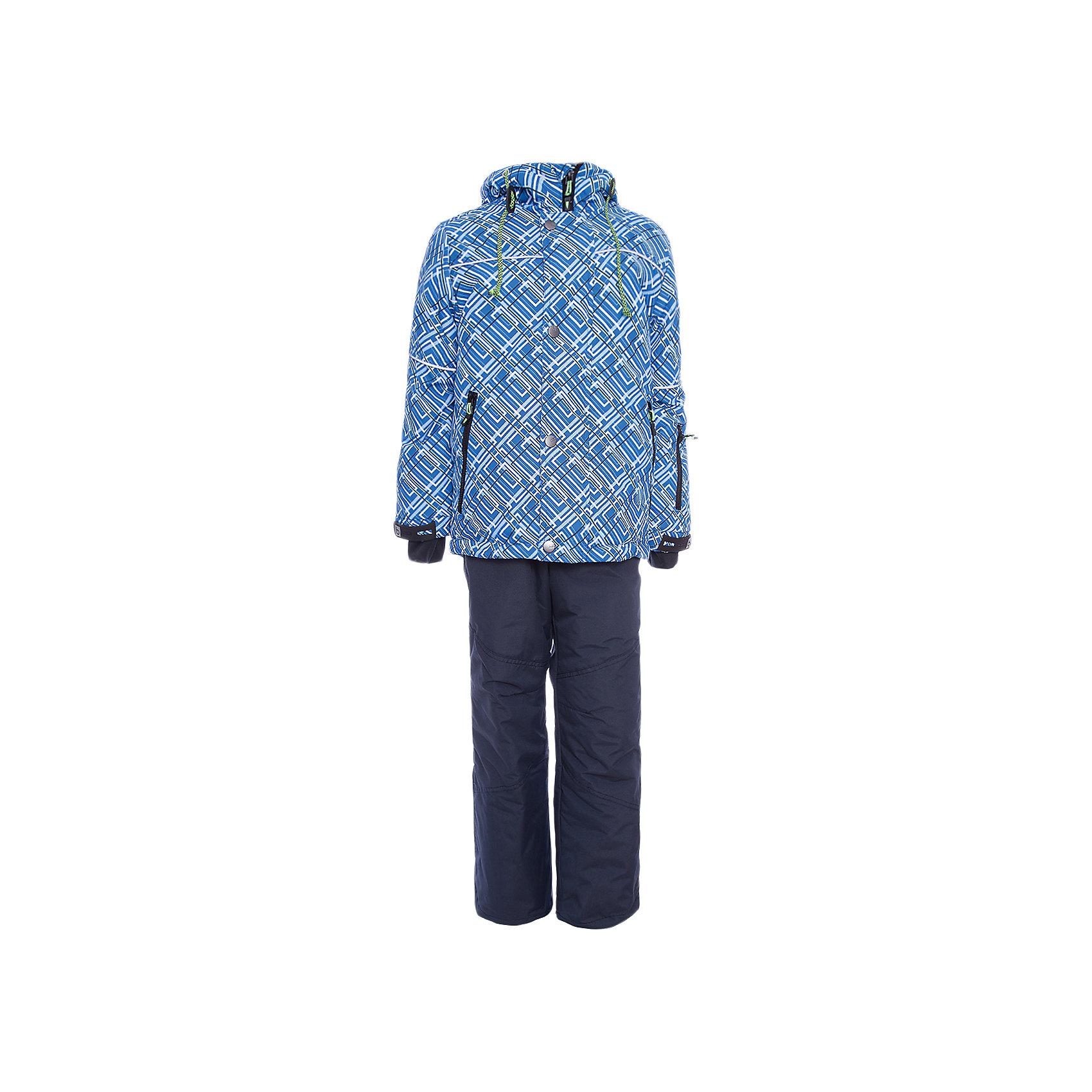 Комплект: куртка и полукомбенизон Юпитер Batik для мальчикаВерхняя одежда<br>Характеристики товара:<br><br>• цвет: синий<br>• комплектация: куртка и полукомбинезон<br>• состав ткани: таслан<br>• подкладка: поларфлис<br>• утеплитель: слайтекс<br>• сезон: зима<br>• мембранное покрытие<br>• температурный режим: от -35 до 0<br>• водонепроницаемость: 5000 мм <br>• паропроницаемость: 5000 г/м2<br>• плотность утеплителя: куртка - 350 г/м2, полукомбинезон - 200 г/м2<br>• застежка: молния<br>• капюшон: без меха, отстегивается<br>• встроенный термодатчик<br>• страна бренда: Россия<br>• страна изготовитель: Россия<br><br>Мягкая подкладка детского комплекта для зимы делает его очень комфортным. Мембранное покрытие такого комплекта для мальчика позволяет ребенку не мерзнуть в сильный мороз. Это зимний комплект для мальчика дополнен удобными карманами и капюшоном. Зимний детский комплект защитит ребенка от попадания снега внутрь благодаря манжетам. <br><br>Комплект: куртка и полукомбинезон Юпитер Batik (Батик) для мальчика можно купить в нашем интернет-магазине.<br><br>Ширина мм: 356<br>Глубина мм: 10<br>Высота мм: 245<br>Вес г: 519<br>Цвет: синий<br>Возраст от месяцев: 120<br>Возраст до месяцев: 132<br>Пол: Мужской<br>Возраст: Детский<br>Размер: 146,122,128,134,140<br>SKU: 7028335