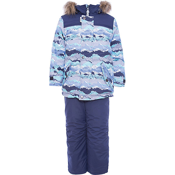 Комплект: куртка и полукомбенизон Адам Batik для мальчикаВерхняя одежда<br>Характеристики товара:<br><br>• цвет: бирюзовый<br>• комплектация: куртка и полукомбинезон, толстовка<br>• состав ткани: таслан<br>• подкладка: поларфлис<br>• утеплитель: слайтекс<br>• сезон: зима<br>• мембранное покрытие<br>• температурный режим: от -35 до 0<br>• водонепроницаемость: 5000 мм <br>• паропроницаемость: 5000 г/м2<br>• плотность утеплителя: куртка - 350 г/м2, полукомбинезон - 200 г/м2<br>• застежка: молния<br>• капюшон: с мехом, отстегивается<br>• силиконовые штрипки<br>• встроенный термодатчик<br>• страна бренда: Россия<br>• страна изготовитель: Россия<br><br>Высокотехнологичная мембрана в детском комплекте надежно защищает от холода и влаги. Подкладка комплекта для мальчика мягкая и теплая. Этот зимний комплект для мальчика выполнен в модной расцветке. Практичный зимний комплект дополнен капюшоном, карманами и удобной молнией. <br><br>Комплект: куртка и полукомбинезон Адам Batik (Батик) для мальчика можно купить в нашем интернет-магазине.<br>Ширина мм: 356; Глубина мм: 10; Высота мм: 245; Вес г: 519; Цвет: бирюзовый; Возраст от месяцев: 18; Возраст до месяцев: 24; Пол: Мужской; Возраст: Детский; Размер: 92,116,110,104,98; SKU: 7028341;