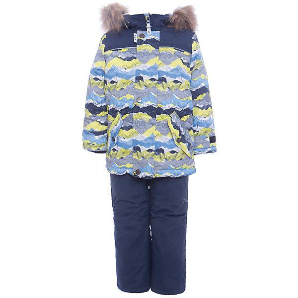 Комплект: куртка и полукомбенизон Адам Batik для мальчикаВерхняя одежда<br>Характеристики товара:<br><br>• цвет: бирюзовый<br>• комплектация: куртка и полукомбинезон, толстовка<br>• состав ткани: таслан<br>• подкладка: поларфлис<br>• утеплитель: слайтекс<br>• сезон: зима<br>• мембранное покрытие<br>• температурный режим: от -35 до 0<br>• водонепроницаемость: 5000 мм <br>• паропроницаемость: 5000 г/м2<br>• плотность утеплителя: куртка - 350 г/м2, полукомбинезон - 200 г/м2<br>• застежка: молния<br>• капюшон: с мехом, отстегивается<br>• силиконовые штрипки<br>• встроенный термодатчик<br>• страна бренда: Россия<br>• страна изготовитель: Россия<br><br>Флисовая подкладка детского комплекта для зимы обеспечивает высокий уровень комфорта. Мембранное покрытие такого комплекта для мальчика позволяет ребенку не мерзнуть в сильный мороз. Это зимний комплект для мальчика дополнен удобными карманами и капюшоном. Зимний детский комплект защитит ребенка от попадания снега внутрь благодаря манжетам. <br><br>Комплект: куртка и полукомбинезон Адам Batik (Батик) для мальчика можно купить в нашем интернет-магазине.<br>Ширина мм: 356; Глубина мм: 10; Высота мм: 245; Вес г: 519; Цвет: зеленый; Возраст от месяцев: 18; Возраст до месяцев: 24; Пол: Мужской; Возраст: Детский; Размер: 92,116,110,104,98; SKU: 7028347;