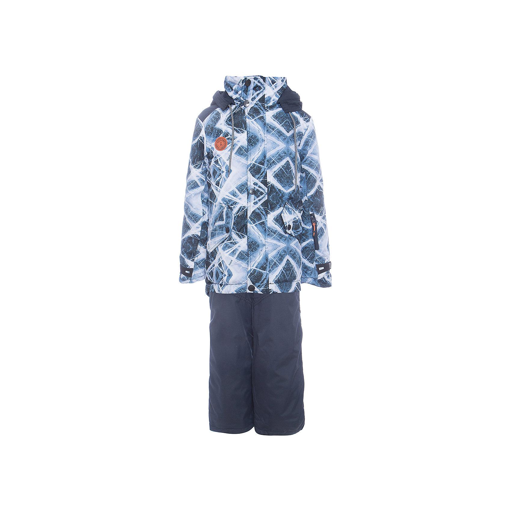 Комплект: куртка и полукомбенизон Кай Batik для мальчикаВерхняя одежда<br>Комплект: куртка и полукомбенизон Кай Batik для мальчика<br>Верхняя ткань обладает водоотталкивающими и ветрозащитными свойствами мембраны. Полукомбинезон с отстегивающимися лямками. Куртка на молнии с ветрозащитной планкой и юбкой внутри, светоотражающими элементами и капюшон на молнии.<br>Состав:<br>Ткань верха - TASLON OXFORD;  Утеплитель - Слайтекс 250;  Подкладка - Полар флис;<br><br>Ширина мм: 356<br>Глубина мм: 10<br>Высота мм: 245<br>Вес г: 519<br>Цвет: синий<br>Возраст от месяцев: 120<br>Возраст до месяцев: 132<br>Пол: Мужской<br>Возраст: Детский<br>Размер: 146,134,140<br>SKU: 7028353
