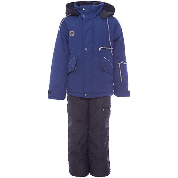 Комплект: куртка и полукомбенизон Марс Batik для мальчикаВерхняя одежда<br>Характеристики товара:<br><br>• цвет: синий<br>• комплектация: куртка и полукомбинезон<br>• состав ткани: таслан<br>• подкладка: поларфлис<br>• утеплитель: слайтекс<br>• сезон: зима<br>• мембранное покрытие<br>• температурный режим: от -35 до 0<br>• водонепроницаемость: 5000 мм <br>• паропроницаемость: 5000 г/м2<br>• плотность утеплителя: куртка - 350 г/м2, полукомбинезон - 200 г/м2<br>• застежка: молния<br>• капюшон: без меха, отстегивается<br>• встроенный термодатчик<br>• страна бренда: Россия<br>• страна изготовитель: Россия<br><br>Флисовая подкладка комплекта для мальчика мягкая и теплая. Теплый зимний комплект для мальчика выполнен в модной расцветке. Практичный зимний комплект дополнен капюшоном, карманами и удобной молнией. Высокотехнологичная мембрана в детском комплекте надежно защищает от холода и влаги. <br><br>Комплект: куртка и полукомбинезон Марс Batik (Батик) для мальчика можно купить в нашем интернет-магазине.<br>Ширина мм: 356; Глубина мм: 10; Высота мм: 245; Вес г: 519; Цвет: синий; Возраст от месяцев: 84; Возраст до месяцев: 96; Пол: Мужской; Возраст: Детский; Размер: 128,158,152,146,140,134; SKU: 7028369;