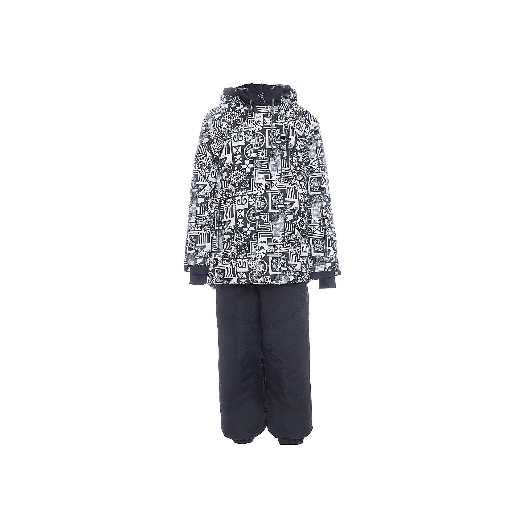 Комплект: куртка и полукомбенизон Сэм Batik для мальчикаВерхняя одежда<br>Характеристики товара:<br><br>• цвет: белый<br>• комплектация: куртка и полукомбинезон<br>• состав ткани: таслан<br>• подкладка: поларфлис<br>• утеплитель: слайтекс<br>• сезон: зима<br>• мембранное покрытие<br>• температурный режим: от -35 до 0<br>• водонепроницаемость: 5000 мм <br>• паропроницаемость: 5000 г/м2<br>• плотность утеплителя: куртка - 350 г/м2, полукомбинезон - 200 г/м2<br>• застежка: молния<br>• капюшон: без меха, отстегивается<br>• встроенный термодатчик<br>• страна бренда: Россия<br>• страна изготовитель: Россия<br><br>Тепло и удобно одеть ребенка зимой поможет этот мембранный комплект. Зимний детский комплект защитит ребенка от попадания снега внутрь благодаря манжетам. Мембранное покрытие этого комплекта для мальчика не пропускает ветер и мороз. Это зимний комплект для мальчика дополнен удобными карманами и капюшоном. <br><br>Комплект: куртка и полукомбинезон Сэм Batik (Батик) для мальчика можно купить в нашем интернет-магазине.<br><br>Ширина мм: 356<br>Глубина мм: 10<br>Высота мм: 245<br>Вес г: 519<br>Цвет: белый<br>Возраст от месяцев: 156<br>Возраст до месяцев: 168<br>Пол: Мужской<br>Возраст: Детский<br>Размер: 164,122,128,134,140,146,152,158<br>SKU: 7028409