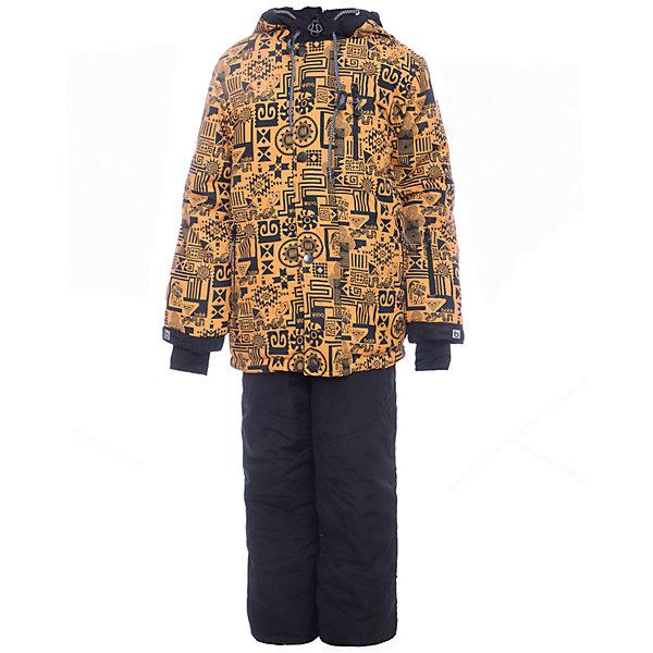 Комплект: куртка и полукомбенизон Сэм Batik для мальчикаВерхняя одежда<br>Характеристики товара:<br><br>• цвет: горчичный<br>• комплектация: куртка и полукомбинезон<br>• состав ткани: таслан<br>• подкладка: поларфлис<br>• утеплитель: слайтекс<br>• сезон: зима<br>• мембранное покрытие<br>• температурный режим: от -35 до 0<br>• водонепроницаемость: 5000 мм <br>• паропроницаемость: 5000 г/м2<br>• плотность утеплителя: куртка - 350 г/м2, полукомбинезон - 200 г/м2<br>• застежка: молния<br>• капюшон: без меха, отстегивается<br>• встроенный термодатчик<br>• страна бренда: Россия<br>• страна изготовитель: Россия<br><br>Мембранный костюм для ребенка - отличная защита от холода, ветра и влаги. Зимний детский комплект защитит ребенка от попадания снега внутрь благодаря манжетам. Мягкая подкладка детского комплекта для зимы делает его очень комфортным. Прочное мембранное покрытие комплекта для мальчика позволяет не мерзнуть в сильный мороз.<br><br>Комплект: куртка и полукомбинезон Сэм Batik (Батик) для мальчика можно купить в нашем интернет-магазине.<br><br>Ширина мм: 356<br>Глубина мм: 10<br>Высота мм: 245<br>Вес г: 519<br>Цвет: желтый<br>Возраст от месяцев: 72<br>Возраст до месяцев: 84<br>Пол: Мужской<br>Возраст: Детский<br>Размер: 122,164,158,152,146,140,134,128<br>SKU: 7028414