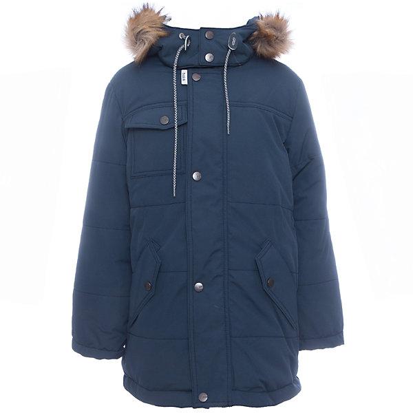 Куртка Лаки Batik для мальчикаВерхняя одежда<br>Характеристики товара:<br><br>• цвет: синий<br>• состав ткани: таслан<br>• подкладка: поларфлис<br>• утеплитель: слайтекс<br>• сезон: зима<br>• мембранное покрытие<br>• температурный режим: от -35 до 0<br>• водонепроницаемость: 5000 мм <br>• паропроницаемость: 5000 г/м2<br>• плотность утеплителя: 300 г/м2<br>• застежка: молния<br>• капюшон: с мехом, съемный<br>• страна бренда: Россия<br>• страна изготовитель: Россия<br><br>Мембранное покрытие детской куртки не задерживает воздух, при этом - надежная защита от влаги, ветра и холода. Модная куртка Batik для мальчика рассчитана даже на сильные морозы. Зимняя куртка от бренда Batik создана с учетом последних тенденций в молодежной моде. Одновременно эта детская куртка теплая и удобная. <br><br>Куртку Лаки Batik (Батик) для мальчика можно купить в нашем интернет-магазине.<br><br>Ширина мм: 356<br>Глубина мм: 10<br>Высота мм: 245<br>Вес г: 519<br>Цвет: темно-синий<br>Возраст от месяцев: 84<br>Возраст до месяцев: 96<br>Пол: Мужской<br>Возраст: Детский<br>Размер: 128,146,140,134<br>SKU: 7028434