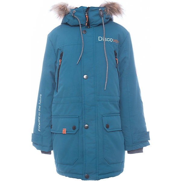 Куртка Томас Batik для мальчикаВерхняя одежда<br>Характеристики товара:<br><br>• цвет: бирюзовый<br>• состав ткани: таслан<br>• подкладка: поларфлис<br>• утеплитель: слайтекс<br>• сезон: зима<br>• мембранное покрытие<br>• температурный режим: от -35 до 0<br>• водонепроницаемость: 5000 мм <br>• паропроницаемость: 5000 г/м2<br>• плотность утеплителя: 300 г/м2<br>• застежка: молния<br>• капюшон: с мехом, съемный<br>• страна бренда: Россия<br>• страна изготовитель: Россия<br><br>Эта куртка Batik для мальчика рассчитана даже на сильные морозы. Зимняя куртка от бренда Batik создана с учетом последних тенденций в молодежной моде. Одновременно эта детская куртка теплая и удобная. Мембранное покрытие детской куртки не задерживает воздух, при этом - надежная защита от влаги, ветра и холода. <br><br>Куртку Томас Batik (Батик) для мальчика можно купить в нашем интернет-магазине.<br><br>Ширина мм: 356<br>Глубина мм: 10<br>Высота мм: 245<br>Вес г: 519<br>Цвет: бирюзовый<br>Возраст от месяцев: 156<br>Возраст до месяцев: 168<br>Пол: Мужской<br>Возраст: Детский<br>Размер: 164,134,140,146,152,158<br>SKU: 7028447