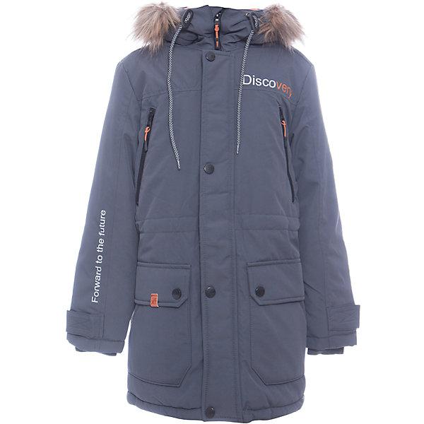 Куртка Томас Batik для мальчикаВерхняя одежда<br>Характеристики товара:<br><br>• цвет: графит<br>• состав ткани: таслан<br>• подкладка: поларфлис<br>• утеплитель: слайтекс<br>• сезон: зима<br>• мембранное покрытие<br>• температурный режим: от -35 до 0<br>• водонепроницаемость: 5000 мм <br>• паропроницаемость: 5000 г/м2<br>• плотность утеплителя: 300 г/м2<br>• застежка: молния<br>• капюшон: с мехом, съемный<br>• страна бренда: Россия<br>• страна изготовитель: Россия<br><br>Обеспечить ребенку защиту от мороза, влаги и ветра поможет теплая детская куртка. Зимняя куртка Batik для мальчика благодаря мембранному покрытию подходит для ношения в сильные морозы. Детская куртка от бренда Batik отличается удобным капюшоном и карманами. Мембранная зимняя куртка стильная и теплая. <br><br>Куртку Томас Batik (Батик) для мальчика можно купить в нашем интернет-магазине.<br><br>Ширина мм: 356<br>Глубина мм: 10<br>Высота мм: 245<br>Вес г: 519<br>Цвет: серый<br>Возраст от месяцев: 96<br>Возраст до месяцев: 108<br>Пол: Мужской<br>Возраст: Детский<br>Размер: 134,164,158,152,146,140<br>SKU: 7028451