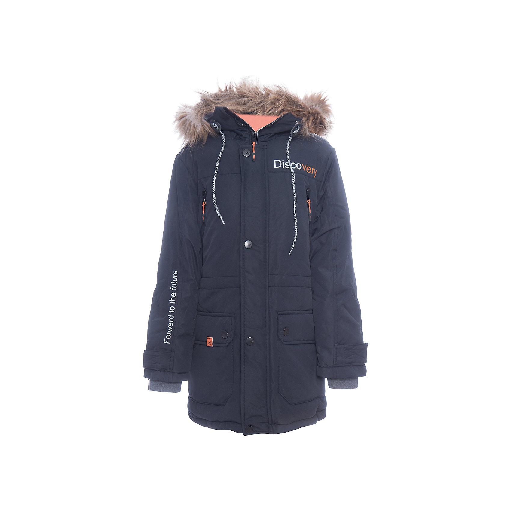 Куртка Томас Batik для мальчикаВерхняя одежда<br>Характеристики товара:<br><br>• цвет: синий<br>• состав ткани: таслан<br>• подкладка: поларфлис<br>• утеплитель: слайтекс<br>• сезон: зима<br>• мембранное покрытие<br>• температурный режим: от -35 до 0<br>• водонепроницаемость: 5000 мм <br>• паропроницаемость: 5000 г/м2<br>• плотность утеплителя: 300 г/м2<br>• застежка: молния<br>• капюшон: с мехом, съемный<br>• страна бренда: Россия<br>• страна изготовитель: Россия<br><br>Синяя куртка для мальчика благодаря высокотехнологичному покрытию подходит для ношения в сильные морозы. Детская куртка от бренда Batik отличается удобным капюшоном и карманами. Мембранная зимняя куртка стильная и теплая. Прочное покрытие детской куртки не задерживает воздух, но защищает от влаги, ветра и холода. <br><br>Куртку Томас Batik (Батик) для мальчика можно купить в нашем интернет-магазине.<br><br>Ширина мм: 356<br>Глубина мм: 10<br>Высота мм: 245<br>Вес г: 519<br>Цвет: синий<br>Возраст от месяцев: 156<br>Возраст до месяцев: 168<br>Пол: Мужской<br>Возраст: Детский<br>Размер: 164,134,140,146,152,158<br>SKU: 7028455