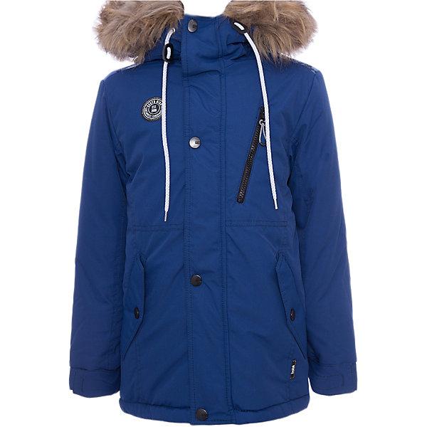 Куртка Игнат Batik для мальчикаВерхняя одежда<br>Характеристики товара:<br><br>• цвет: синий<br>• состав ткани: таслан<br>• подкладка: поларфлис<br>• утеплитель: слайтекс<br>• сезон: зима<br>• мембранное покрытие<br>• температурный режим: от -35 до 0<br>• водонепроницаемость: 5000 мм <br>• паропроницаемость: 5000 г/м2<br>• плотность утеплителя: 300 г/м2<br>• застежка: молния<br>• капюшон: с мехом, несъемный<br>• страна бренда: Россия<br>• страна изготовитель: Россия<br><br>Удобная куртка от бренда Batik разрабатывалась с учетом последних тенденций в молодежной моде. Куртка Batik для мальчика рассчитана даже на сильные морозы. Мембранное покрытие детской куртки не задерживает воздух, при этом - надежная защита от влаги, ветра и холода. Такая детская куртка теплая, легкая и удобная. <br><br>Куртку Игнат Batik (Батик) для мальчика можно купить в нашем интернет-магазине.<br><br>Ширина мм: 356<br>Глубина мм: 10<br>Высота мм: 245<br>Вес г: 519<br>Цвет: синий<br>Возраст от месяцев: 84<br>Возраст до месяцев: 96<br>Пол: Мужской<br>Возраст: Детский<br>Размер: 128,158,140,146,152,134<br>SKU: 7028495