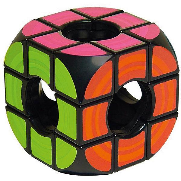 Кубик Рубика Пустой,  RubiksГоловоломки Кубик Рубика<br>Характеристики:<br><br>• возраст: от 7 лет;<br>• сложность игры: средний уровень;<br>• материал: пластик;<br>• количество игроков: 1;<br>• время игры: 30 мин.;<br>• размер упаковки 19х6х19 см;<br>• вес упаковки 400 г.;<br>• тип упаковки: русифицированная подарочная коробка; <br>• размер игрушки: 5,7х5,7х5,7 см.<br><br>Вариация на тему классического кубика Рубика 3х3, у которого вместо механизма пустота. Необычный кубик VOID без центральных элементов, определяющих цвет стороны при сборке, озадачит тех кто уже умеет собирать, и тех кто так и не освоил схему сборки кубика Рубика. <br><br>Игрушка появилась благодаря сотрудничеству бренда Rubiks с японскими изобретателями, придумавшими уникальный механизм без центра, позволяющий реализовать все вращения, необходимые этой головоломке. <br><br>Цель игры – понять принцип работы головоломки и быстрее собирать квадраты одного цвета на каждой из сторон кубика. Игра развивает творческие способности, смекалку, сообразительность, внимательность.<br><br>Головоломку «Кубик Рубика пустой», Rubiks можно приобрести в нашем интернет-магазине.<br>Ширина мм: 190; Глубина мм: 85; Высота мм: 190; Вес г: 300; Возраст от месяцев: 84; Возраст до месяцев: 2147483647; Пол: Унисекс; Возраст: Детский; SKU: 7028998;
