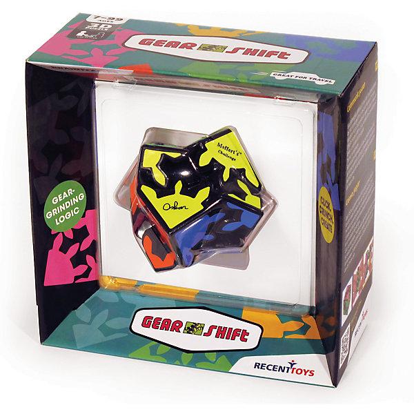 Головоломка Mefferts Шестеренки со Сдвигом (Gear Shift)Объёмные головоломки<br>Характеристики:<br><br>• возраст: от 7 лет;<br>• сложность игры: «продвинутый» уровень;<br>• материал: пластик;<br>• количество игроков: 1;<br>• время игры: 30 мин.;<br>• размер упаковки 9х19х18,5 см;<br>• вес упаковки 280 г.;<br>• размер игрушки: 6х6х6 см;<br>• тип упаковки: картонная коробка.<br><br>«Шестеренки со сдвигом» (Gear Shift) - самая необычная механическая головоломка из тех, которые были придуманы со времен кубика Рубика. <br><br>Восемь шестеренчатых элементов этой головоломки расположены по углам так, что поворот любого из них автоматически вращает все остальные элементы. Нужно найти спрятанный во внутренней части механизм, позволяющей кубу раздвигаться в стороны, разъединяя зубья элементов. Создавая, вращая и меняя группы из 4 связанных шестеренок каждой из половинок, необходимо собрать каждый цвет на своей стороне. <br><br>Головоломку «Шестеренки со сдвигом», Mefferts  можно приобрести в нашем интернет-магазине.<br><br>Ширина мм: 190<br>Глубина мм: 80<br>Высота мм: 190<br>Вес г: 400<br>Возраст от месяцев: 84<br>Возраст до месяцев: 2147483647<br>Пол: Унисекс<br>Возраст: Детский<br>SKU: 7029007