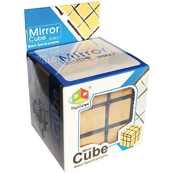 Головоломка Зеркальный Кубик ЗолотоОбъёмные головоломки<br>Характеристики:<br><br>• возраст: от 7 лет;<br>• сложность игры: средний уровень;<br>• материал: пластик;<br>• количество игроков: 1;<br>• время игры: 30 мин.;<br>• размер упаковки 19х6х19 см;<br>• количество деталей: 26;<br>• вес упаковки 90 г.;<br>• тип упаковки: бумажная коробка; <br>• размер игрушки: 5,7х5,7 см.<br><br>Головоломка по конструкции похожа на кубик Рубика 3х3, только все кубики у него отличаются не по цвету, а по размеру. В этом и заключается суть головоломки. Эта модификация кубика Рубика придумана японцем Хидетоши Такей (Hidetoshi Takeji).<br><br>Красивые металлизированные наклейки c текстурной насечкой имеют приятный оттенок. <br><br>Задача игры - собрать части-параллелепипеды в кубик, вращая грани. Кубик развивает творческие способности, смекалку, сообразительность, внимательность.<br><br>Головоломку «Зеркальный кубик золото», Mirror можно приобрести в нашем интернет-магазине.<br><br>Ширина мм: 60<br>Глубина мм: 60<br>Высота мм: 60<br>Вес г: 100<br>Возраст от месяцев: 84<br>Возраст до месяцев: 2147483647<br>Пол: Унисекс<br>Возраст: Детский<br>SKU: 7029011