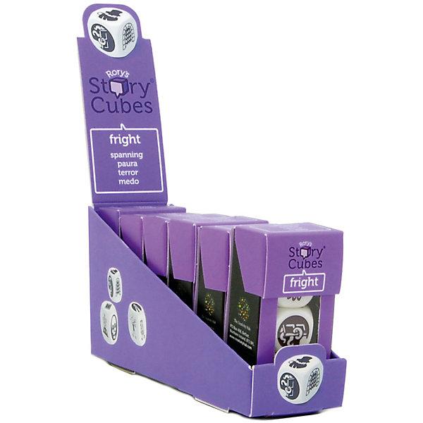 Настольная Игра Кубики Историй, доп. Набор Ужастики (3 кубика)Игры в дорогу<br>Характеристики:<br><br>• возраст: от 6 лет;<br>• сложность игры: средний уровень;<br>• материал: картон, пластик;<br>• количество игроков: 2-6;<br>• время игры: 30 мин.;<br>• вес упаковки: 40 г.;<br>• тип упаковки: цветная картонная коробка;<br>• размер упаковки: 3х3,5х7 см.<br>  <br>Дополнительные кубики с картинками на тему «Ужастики» сделают рассказывание историй еще более интересным.<br><br>3 кубика набора «Ужастики» нужно добавить в основной набор Кубиков Историй, убрав при этом 3 других кубика. Либо, можно собрать свой собственный набор из 9 кубиков, состоящий из 3 мини-наборов.<br><br>Кубики Историй помогают развитию речи, учат формулировать мысли и продумывать структуру рассказа.        <br> <br> В комплекте: <br>• 3 кубика;<br>• картонная коробочка-контейнер.      <br><br>Настольную игру «Кубики Историй. Дополнительный набор «Ужастики» (3 кубика)» можно приобрести в нашем интернет-магазине.<br>Ширина мм: 35; Глубина мм: 30; Высота мм: 75; Вес г: 50; Возраст от месяцев: 84; Возраст до месяцев: 2147483647; Пол: Унисекс; Возраст: Детский; SKU: 7029014;