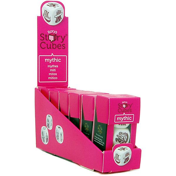 Настольная Игра Кубики Историй, доп. Набор Мифы (3 кубика)Игры в дорогу<br>Характеристики:<br><br>• возраст: от 6 лет;<br>• сложность игры: средний уровень;<br>• материал: картон, пластик;<br>• количество игроков: 2-6;<br>• время игры: 30 мин.;<br>• вес упаковки: 40 г.;<br>• тип упаковки: цветная картонная коробка;<br>• размер упаковки: 3х3,5х7 см.<br>  <br>Дополнительные кубики с картинками на тему «Мифы» сделают рассказывание историй еще более интересным. На картинках этой версии Кубиков Историй - мифы и легенды, знаменитые герои и красочные истории Древней Греции.<br><br>3 кубика набора «Мифы» нужно добавить в основной набор Кубиков Историй, убрав при этом 3 других кубика. Либо, можно собрать свой собственный набор из 9 кубиков, состоящий из 3 мини-наборов.<br><br>Кубики Историй помогают развитию речи, учат формулировать мысли и продумывать структуру рассказа.        <br> <br> В комплекте: <br>• 3 кубика;<br>• картонная коробочка-контейнер.      <br><br>Настольную игру «Кубики Историй. Дополнительный набор «Мифы» (3 кубика)» можно приобрести в нашем интернет-магазине.<br>Ширина мм: 35; Глубина мм: 30; Высота мм: 75; Вес г: 50; Возраст от месяцев: 72; Возраст до месяцев: 2147483647; Пол: Унисекс; Возраст: Детский; SKU: 7029016;