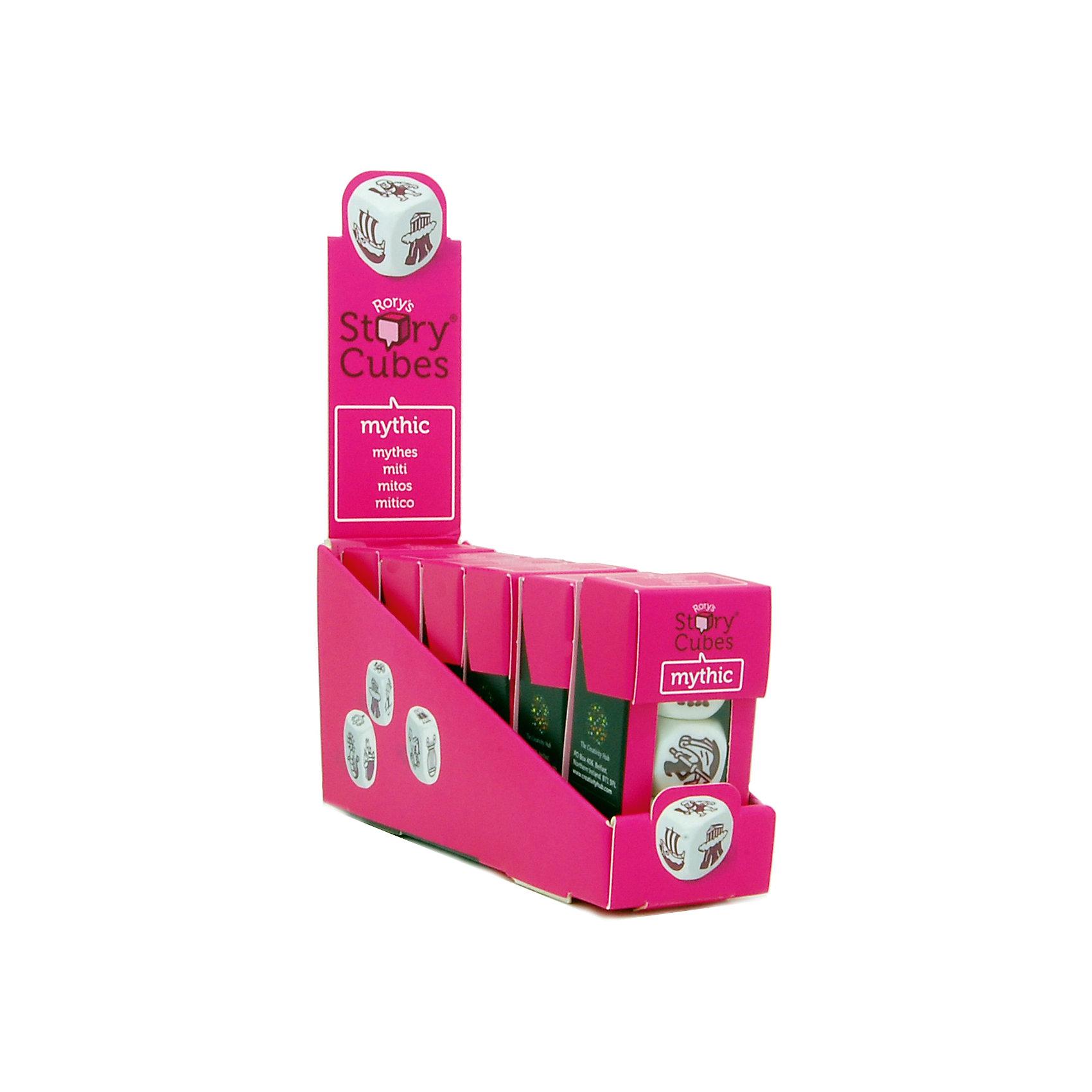 Настольная Игра Кубики Историй, доп. Набор Мифы (3 кубика)Игры в дорогу<br>Характеристики:<br><br>• возраст: от 6 лет;<br>• сложность игры: средний уровень;<br>• материал: картон, пластик;<br>• количество игроков: 2-6;<br>• время игры: 30 мин.;<br>• вес упаковки: 40 г.;<br>• тип упаковки: цветная картонная коробка;<br>• размер упаковки: 3х3,5х7 см.<br>  <br>Дополнительные кубики с картинками на тему «Мифы» сделают рассказывание историй еще более интересным. На картинках этой версии Кубиков Историй - мифы и легенды, знаменитые герои и красочные истории Древней Греции.<br><br>3 кубика набора «Мифы» нужно добавить в основной набор Кубиков Историй, убрав при этом 3 других кубика. Либо, можно собрать свой собственный набор из 9 кубиков, состоящий из 3 мини-наборов.<br><br>Кубики Историй помогают развитию речи, учат формулировать мысли и продумывать структуру рассказа.        <br> <br> В комплекте: <br>• 3 кубика;<br>• картонная коробочка-контейнер.      <br><br>Настольную игру «Кубики Историй. Дополнительный набор «Мифы» (3 кубика)» можно приобрести в нашем интернет-магазине.<br><br>Ширина мм: 35<br>Глубина мм: 30<br>Высота мм: 75<br>Вес г: 50<br>Возраст от месяцев: 72<br>Возраст до месяцев: 2147483647<br>Пол: Унисекс<br>Возраст: Детский<br>SKU: 7029016