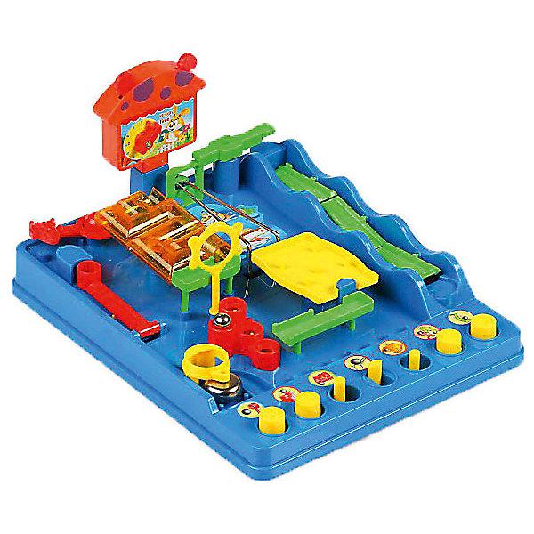 Игра настольная Упрямый ШарикНастольные игры для всей семьи<br>Характеристики:<br><br>• возраст: от 3 лет;<br>• сложность игры: средний уровень;<br>• материал: пластик;<br>• количество игроков: 1-4;<br>• время игры: 30 мин.;<br>• вес упаковки 990 г.;<br>• размер игры: 26х31,5х15,5 см;<br>• тип упаковки: картонная коробка;<br>• размер упаковки: 34х27х10 см.<br><br>«Упрямый шарик» - такая же игра, как была в СССР. Цель игры - провести маленький металлический шарик через всевозможные препятствия, барьеры и лабиринты к катапульте, отправляющей шарик в звонок. Попав в него, шарик ударяется об металлический купол звоночка, и раздается звон. <br><br>На передней панели расположено несколько рычагов, при помощи которых можно управлять механизмами и устройствами, направляя шарик по определенному пути. Игра снабжена таймером с кнопками, чтобы можно было соревноваться друг с другом.      <br><br>В процессе интересной и захватывающей игры, дети изучат свойства магнита, гравитации, центробежной силы, и рычагов.<br><br> В комплекте:<br>• два металлических шарика;<br>• основание прямоугольной формы;<br>• таймер;<br>• инструкция.<br>  <br>Настольную игру «Упрямый шарик», Tomy можно приобрести в нашем интернет-магазине.<br><br>Ширина мм: 98<br>Глубина мм: 345<br>Высота мм: 265<br>Вес г: 1292<br>Возраст от месяцев: 60<br>Возраст до месяцев: 2147483647<br>Пол: Унисекс<br>Возраст: Детский<br>SKU: 7029019