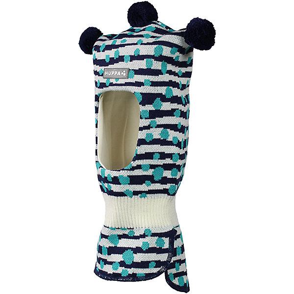 Шапка-шлем Huppa Coco для мальчикаЗимние<br>Характеристики товара:<br><br>• модель: Coco;<br>• цвет: синий в полоску;<br>• состав: 50% шерсть, 50% полиакрил;<br>• подкладка: 100% хлопок;<br>• сезон: зима;<br>• температурный режим: от +5 до - 30С;<br>• шапка с тремя помпонами сверху;<br>• особенности: вязаная, шерстяная;<br>• страна бренда: Финляндия;<br>• страна изготовитель: Эстония.<br><br>Шапка-шлем Хуппа с тремя помпонами. Подкладка выполнена из хлопкового трикотажа, наружная ткань - это 50% мериносовой шерсти и 50% акриловой пряжи. Шапка-шлем идеальна для ношения в зимние холода, потому что защищает шею и уши ребенка от холодного ветра.<br><br>Шапку-шлем Huppa Coco (Хуппа) можно купить в нашем интернет-магазине.<br><br>Ширина мм: 89<br>Глубина мм: 117<br>Высота мм: 44<br>Вес г: 155<br>Цвет: синий<br>Возраст от месяцев: 3<br>Возраст до месяцев: 12<br>Пол: Мужской<br>Возраст: Детский<br>Размер: 43-45,47-49<br>SKU: 7029364