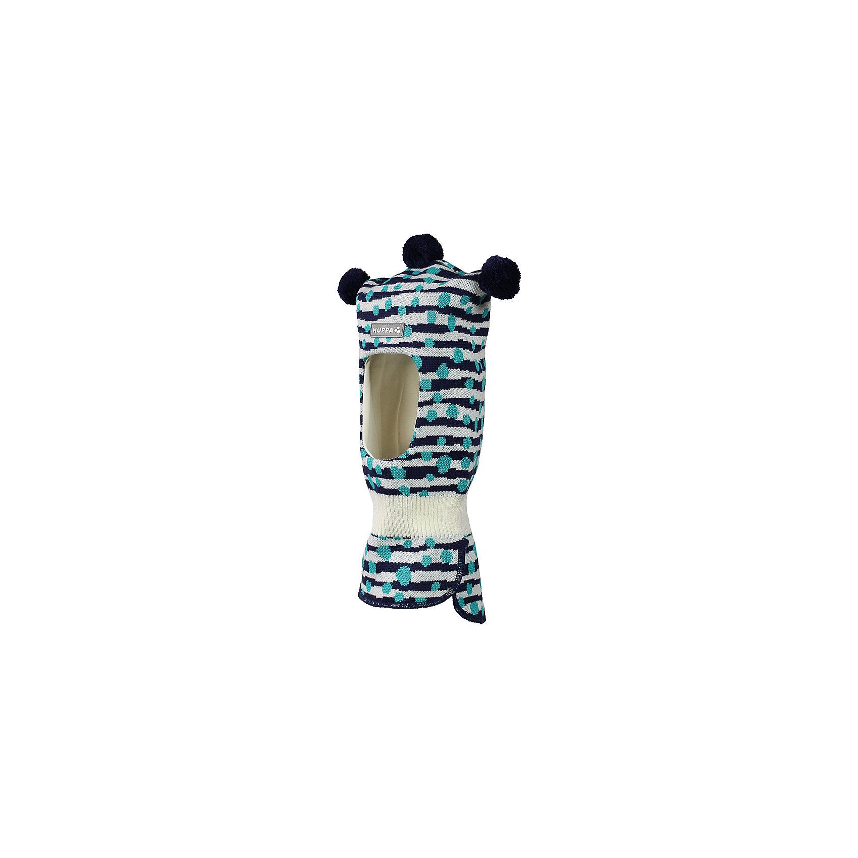 Шапка-шлем Huppa CocoЗимние<br>Характеристики товара:<br><br>• модель: Coco;<br>• цвет: синий в полоску;<br>• состав: 50% шерсть, 50% полиакрил;<br>• подкладка: 100% хлопок;<br>• сезон: зима;<br>• температурный режим: от +5 до - 30С;<br>• шапка с тремя помпонами сверху;<br>• особенности: вязаная, шерстяная;<br>• страна бренда: Финляндия;<br>• страна изготовитель: Эстония.<br><br>Шапка-шлем Хуппа с тремя помпонами. Подкладка выполнена из хлопкового трикотажа, наружная ткань - это 50% мериносовой шерсти и 50% акриловой пряжи. Шапка-шлем идеальна для ношения в зимние холода, потому что защищает шею и уши ребенка от холодного ветра.<br><br>Шапку-шлем Huppa Coco (Хуппа) можно купить в нашем интернет-магазине.<br><br>Ширина мм: 89<br>Глубина мм: 117<br>Высота мм: 44<br>Вес г: 155<br>Цвет: синий<br>Возраст от месяцев: 3<br>Возраст до месяцев: 12<br>Пол: Унисекс<br>Возраст: Детский<br>Размер: 43-45,47-49<br>SKU: 7029364