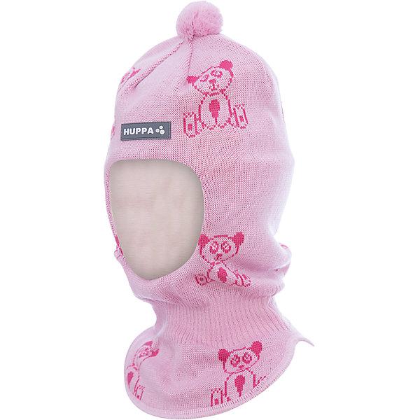Шапка-шлем Huppa Kelda для девочкиЗимние<br>Характеристики товара:<br><br>• модель: Kelda;<br>• цвет: розовый;<br>• состав: 50% шерсть, 50% полиакрил;<br>• подкладка: 100% хлопок;<br>• сезон: зима;<br>• температурный режим: от +5 до - 30С;<br>• шапка с помпоном сверху;<br>• особенности: вязаная, шерстяная;<br>• страна бренда: Финляндия;<br>• страна изготовитель: Эстония.<br><br>Шапка-шлем Хуппа с помпоном. Подкладка выполнена из хлопкового трикотажа, наружная ткань - это 50% мериносовой шерсти и 50% акриловой пряжи. Шапка-шлем идеальна для ношения в зимние холода, потому что защищает шею и уши ребенка от холодного ветра.<br><br>Шапку-шлем Huppa Kelda (Хуппа) можно купить в нашем интернет-магазине.<br>Ширина мм: 89; Глубина мм: 117; Высота мм: 44; Вес г: 155; Цвет: розовый; Возраст от месяцев: 3; Возраст до месяцев: 12; Пол: Женский; Возраст: Детский; Размер: 43-45,51-53,47-49; SKU: 7029369;