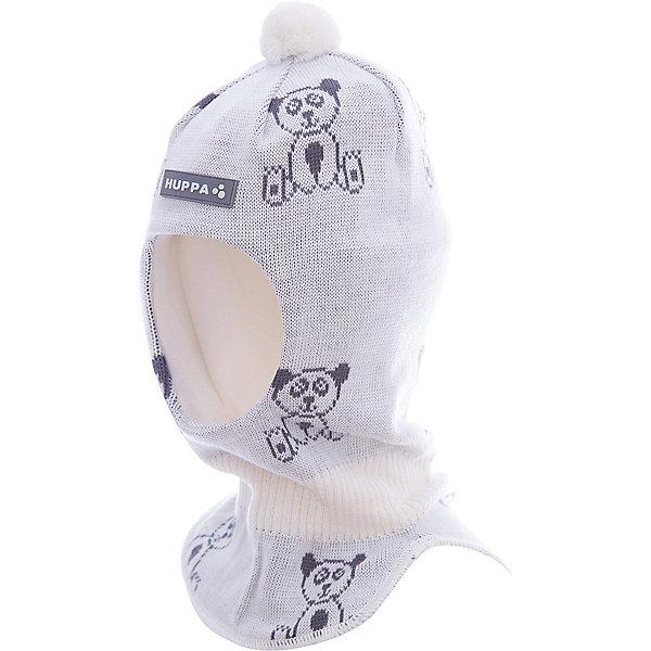 Шапка-шлем Huppa KeldaГоловные уборы<br>Характеристики товара:<br><br>• модель: Kelda;<br>• цвет: белый;<br>• состав: 50% шерсть, 50% полиакрил;<br>• подкладка: 100% хлопок;<br>• сезон: зима;<br>• температурный режим: от +5 до - 30С;<br>• шапка с помпоном сверху;<br>• особенности: вязаная, шерстяная;<br>• страна бренда: Финляндия;<br>• страна изготовитель: Эстония.<br><br>Шапка-шлем Хуппа с помпоном. Подкладка выполнена из хлопкового трикотажа, наружная ткань - это 50% мериносовой шерсти и 50% акриловой пряжи. Шапка-шлем идеальна для ношения в зимние холода, потому что защищает шею и уши ребенка от холодного ветра.<br><br>Шапку-шлем Huppa Kelda (Хуппа) можно купить в нашем интернет-магазине.<br><br>Ширина мм: 89<br>Глубина мм: 117<br>Высота мм: 44<br>Вес г: 155<br>Цвет: белый<br>Возраст от месяцев: 36<br>Возраст до месяцев: 72<br>Пол: Унисекс<br>Возраст: Детский<br>Размер: 51-53,43-45,47-49<br>SKU: 7029373
