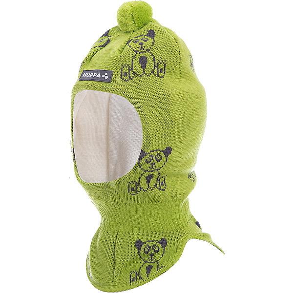 Шапка-шлем Huppa Kelda для мальчикаЗимние<br>Характеристики товара:<br><br>• модель: Kelda;<br>• цвет: салатовый;<br>• состав: 50% шерсть, 50% полиакрил;<br>• подкладка: 100% хлопок;<br>• сезон: зима;<br>• температурный режим: от +5 до - 30С;<br>• шапка с помпоном сверху;<br>• особенности: вязаная, шерстяная;<br>• страна бренда: Финляндия;<br>• страна изготовитель: Эстония.<br><br>Шапка-шлем Хуппа с помпоном. Подкладка выполнена из хлопкового трикотажа, наружная ткань - это 50% мериносовой шерсти и 50% акриловой пряжи. Шапка-шлем идеальна для ношения в зимние холода, потому что защищает шею и уши ребенка от холодного ветра.<br><br>Шапку-шлем Huppa Kelda (Хуппа) можно купить в нашем интернет-магазине.<br>Ширина мм: 89; Глубина мм: 117; Высота мм: 44; Вес г: 155; Цвет: зеленый; Возраст от месяцев: 3; Возраст до месяцев: 12; Пол: Мужской; Возраст: Детский; Размер: 43-45,51-53,47-49; SKU: 7029381;